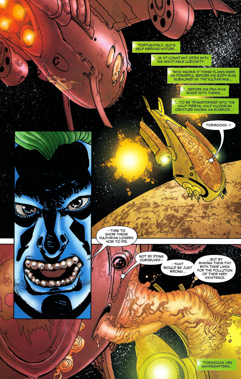 Read online Guy Gardner: Collateral Damage comic -  Issue #1 - 19