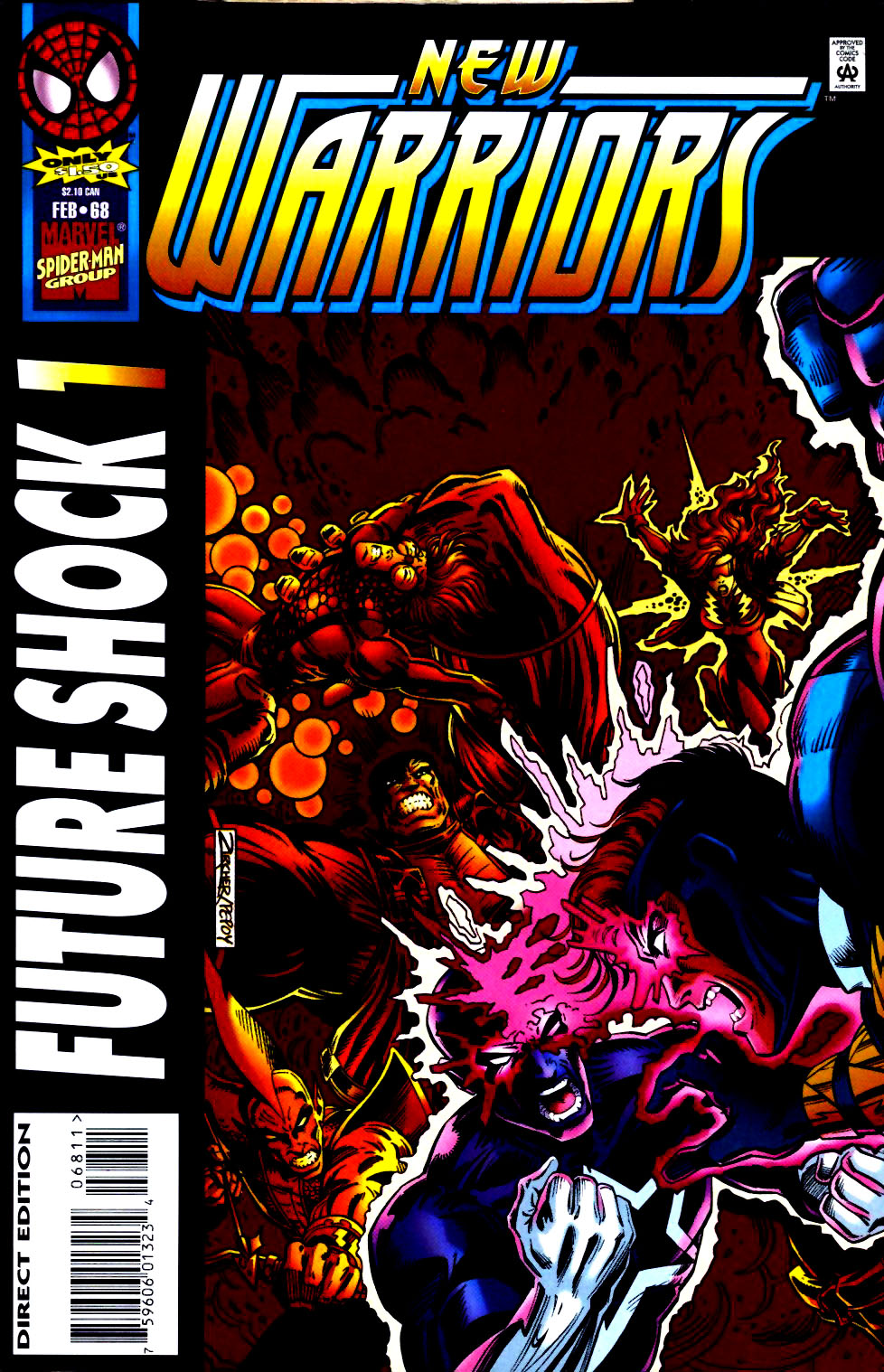 The New Warriors Issue #68 #72 - English 1