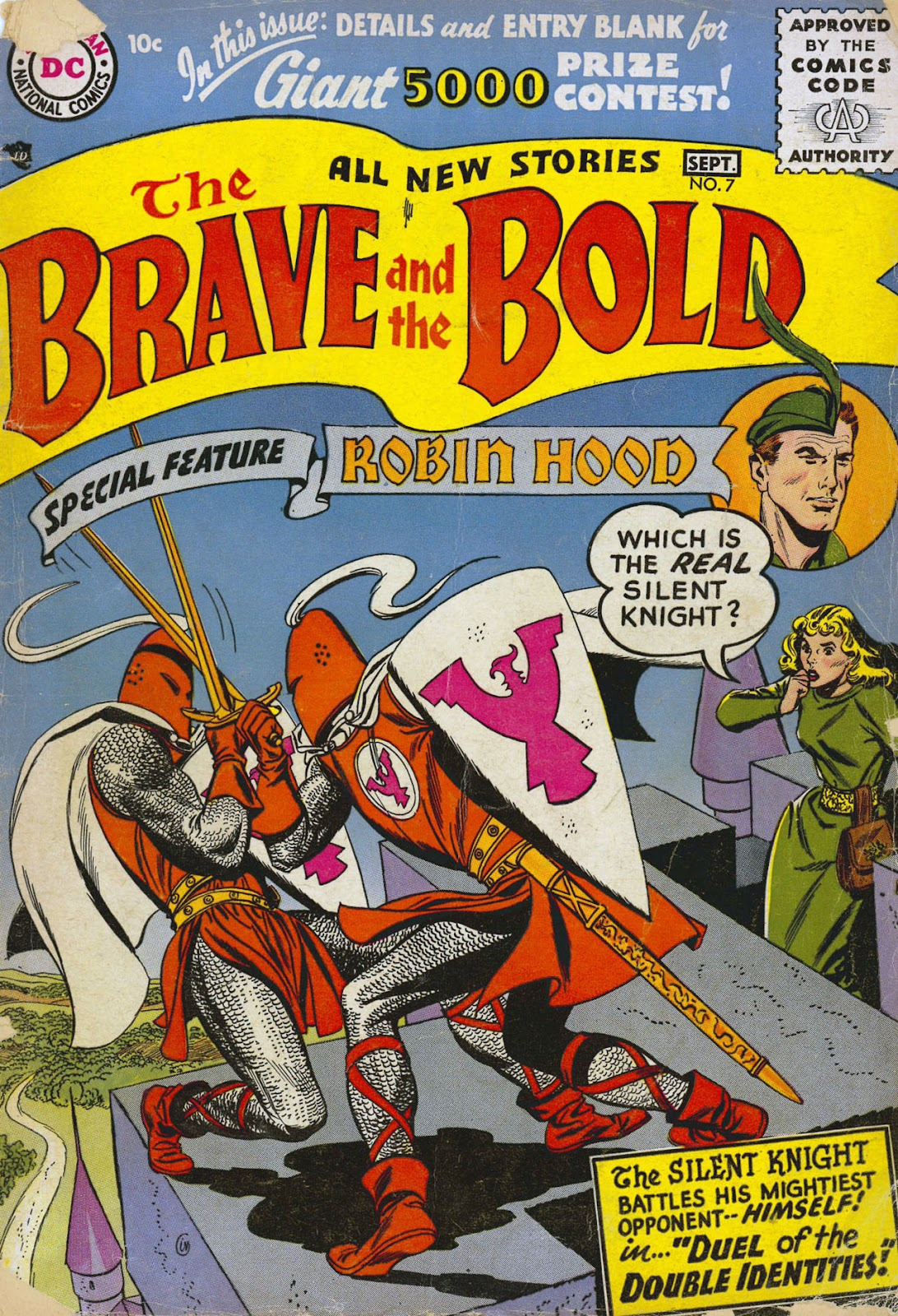 The Brave and the Bold (1955) issue 7 - Page 1
