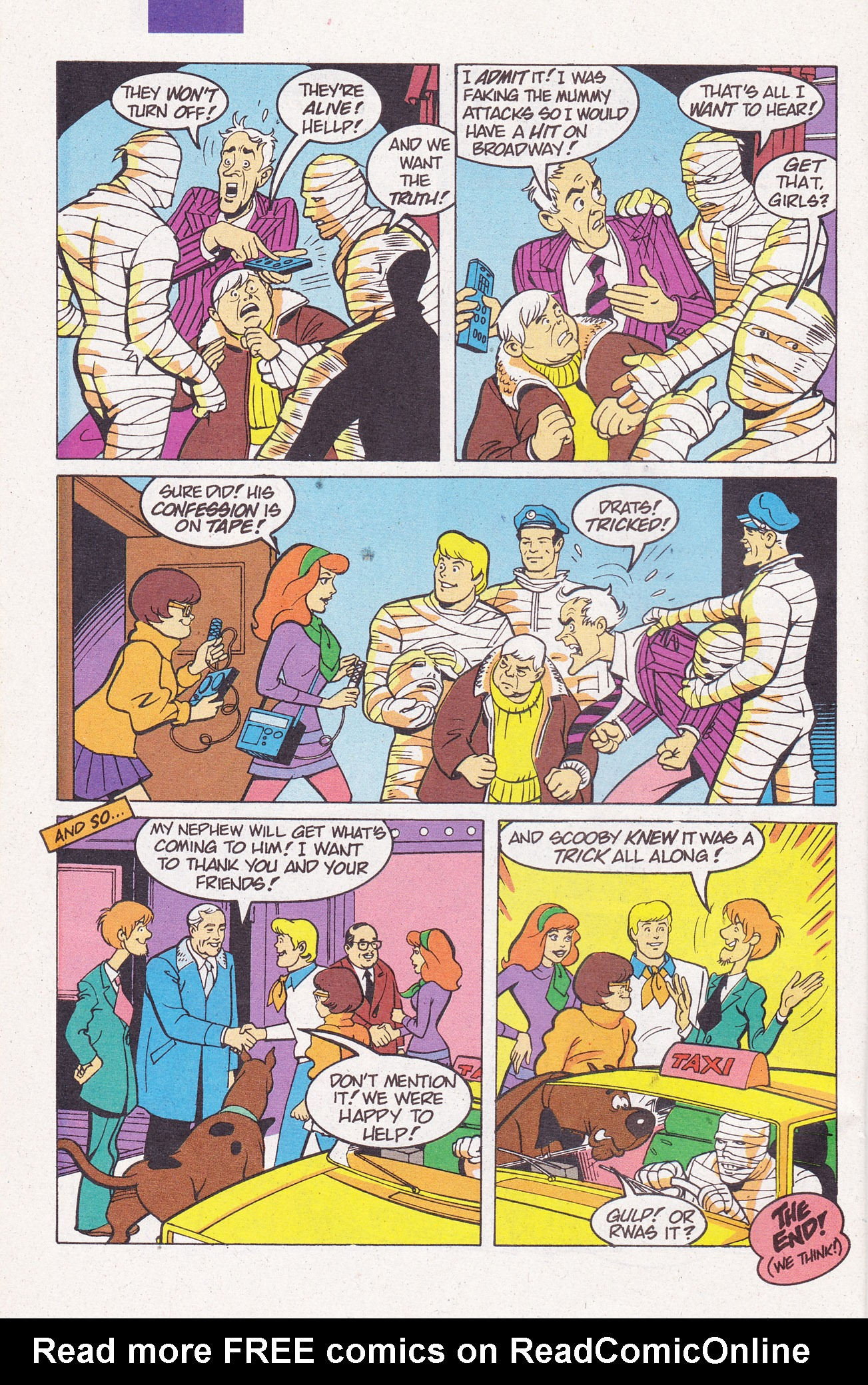 Read online Scooby-Doo (1995) comic -  Issue #7 - 32