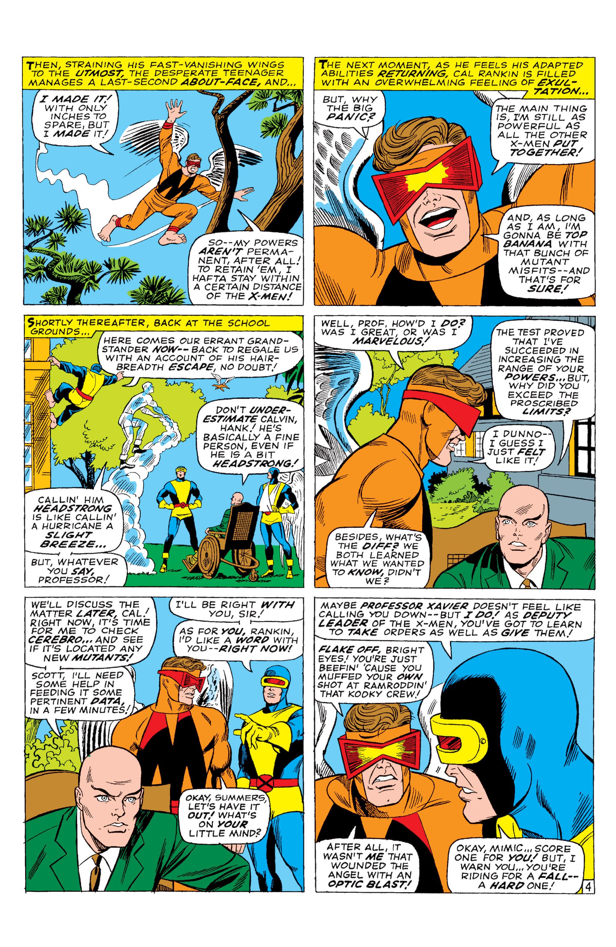 Read online Uncanny X-Men (1963) comic -  Issue #28 - 5