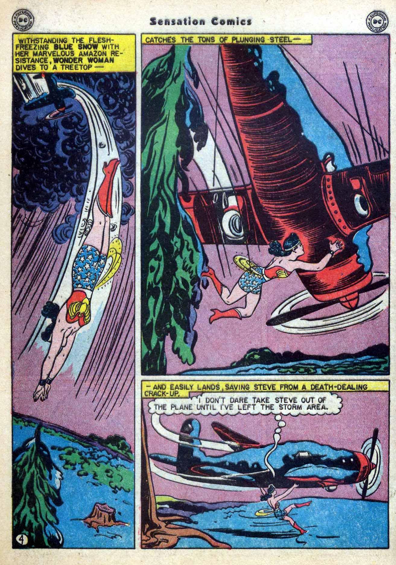Read online Sensation (Mystery) Comics comic -  Issue #59 - 6