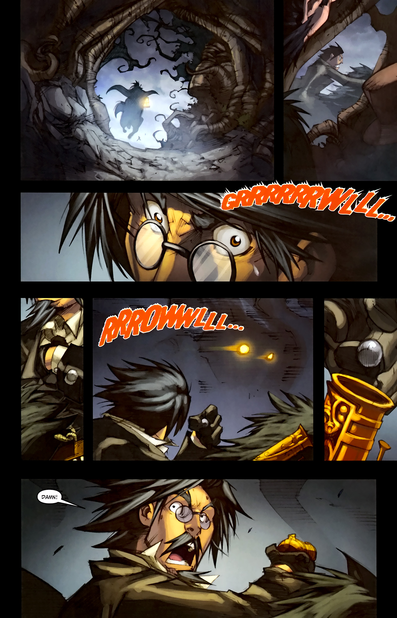 Read online World of Warcraft: Curse of the Worgen comic -  Issue #1 - 14