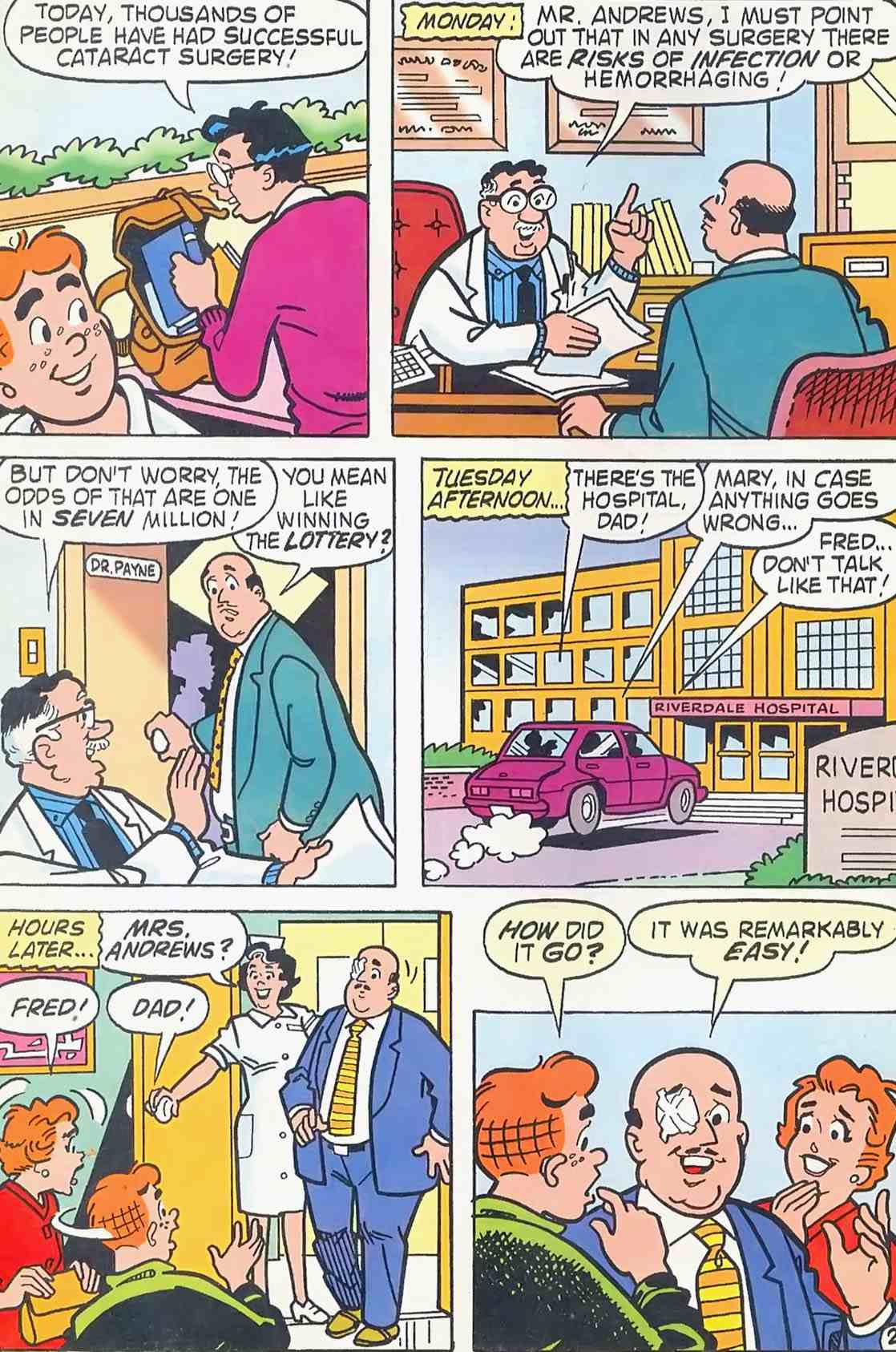Read online Archie (1960) comic -  Issue #454 - 14