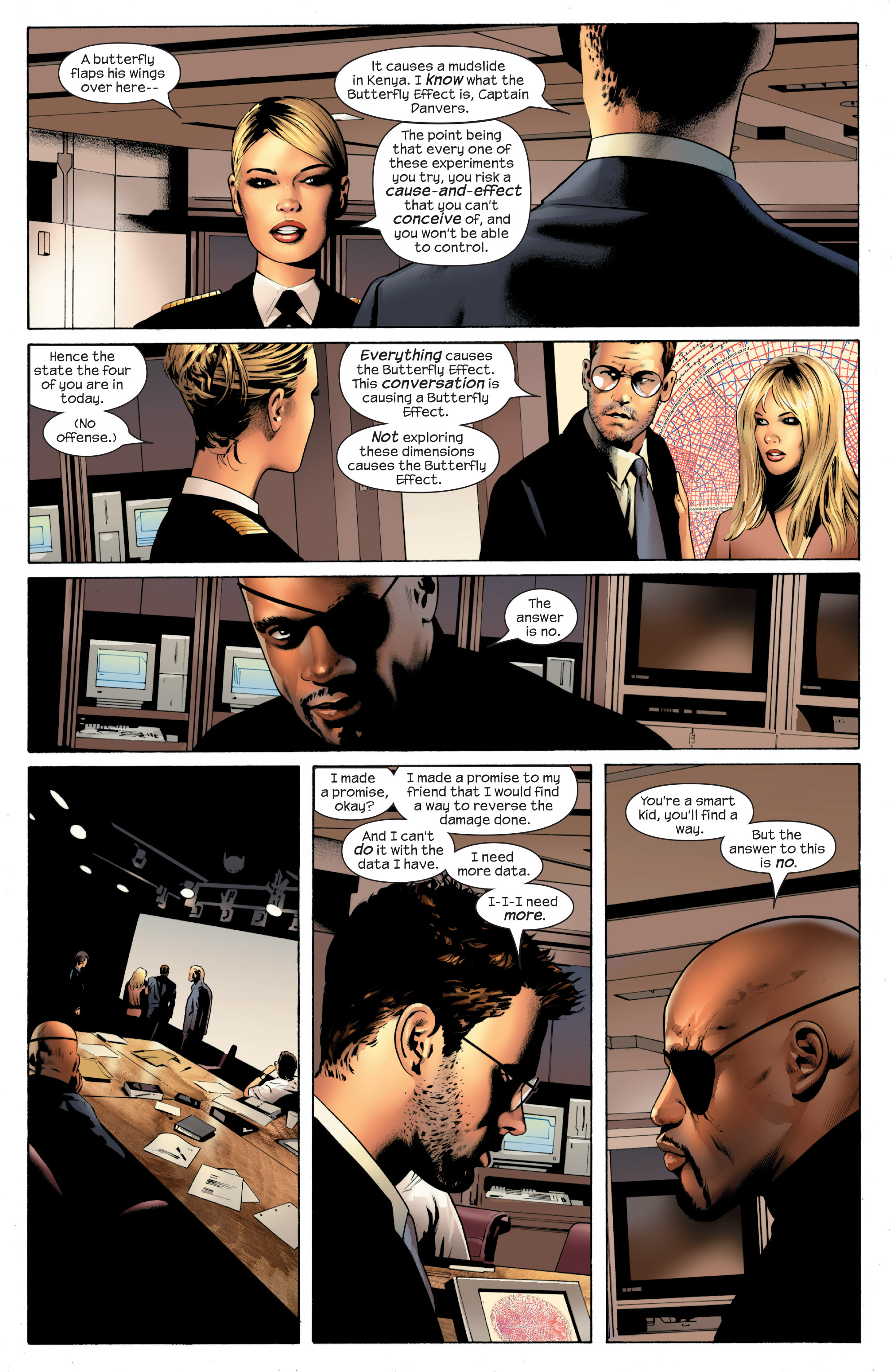 Read online Ultimate Power comic -  Issue #1 - 16