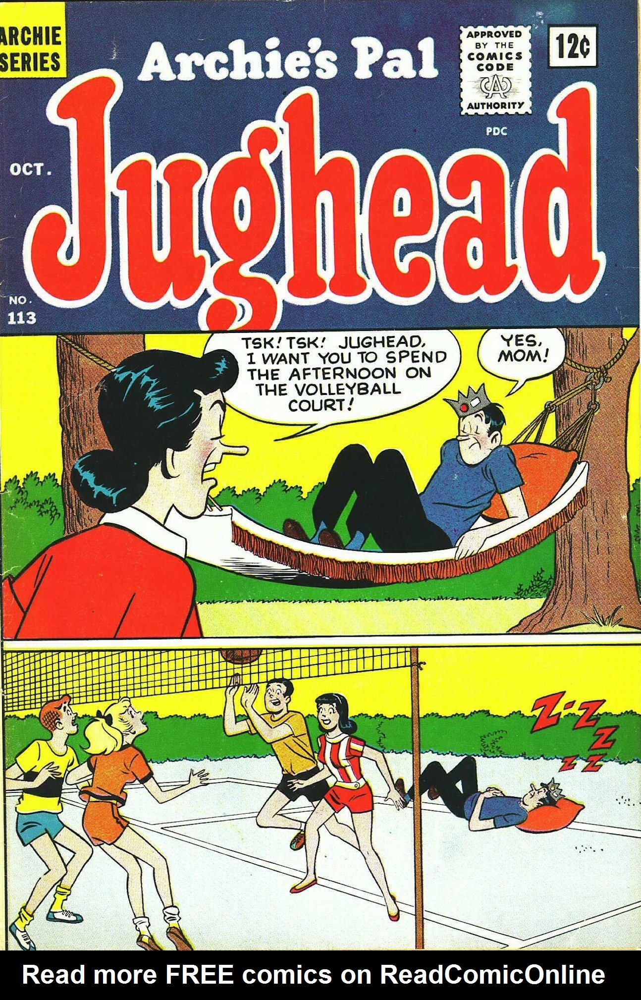 Read online Archie's Pal Jughead Comics comic -  Issue #113 - 1