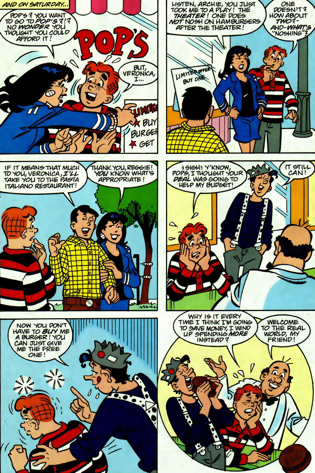 Read online Archie (1960) comic -  Issue #560 - 12