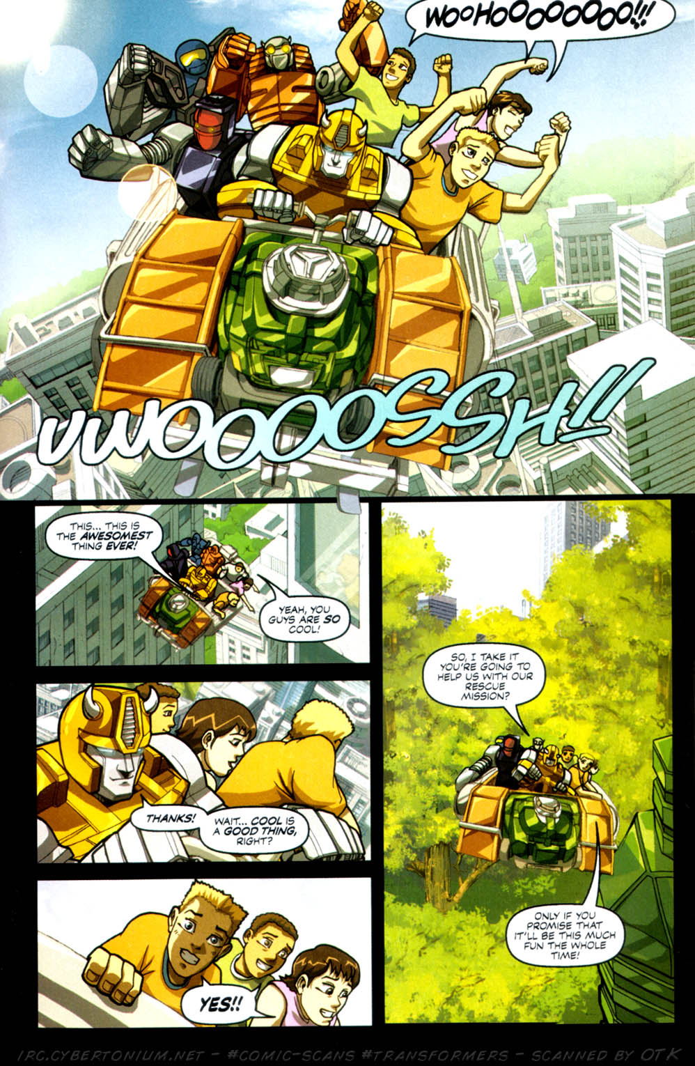 Read online Transformers Armada comic -  Issue #3 - 25
