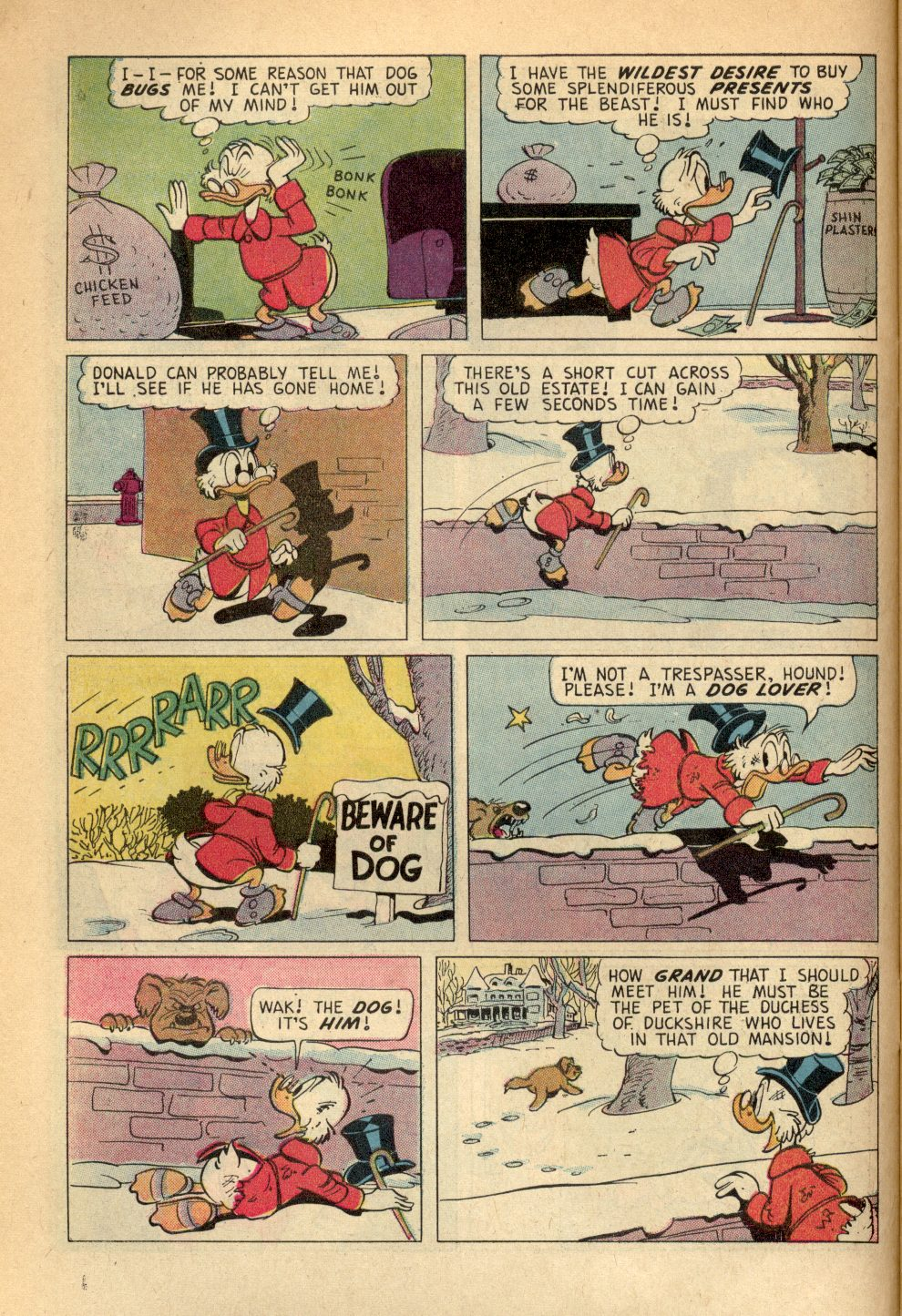 Read online Uncle Scrooge (1953) comic -  Issue #96 - 6