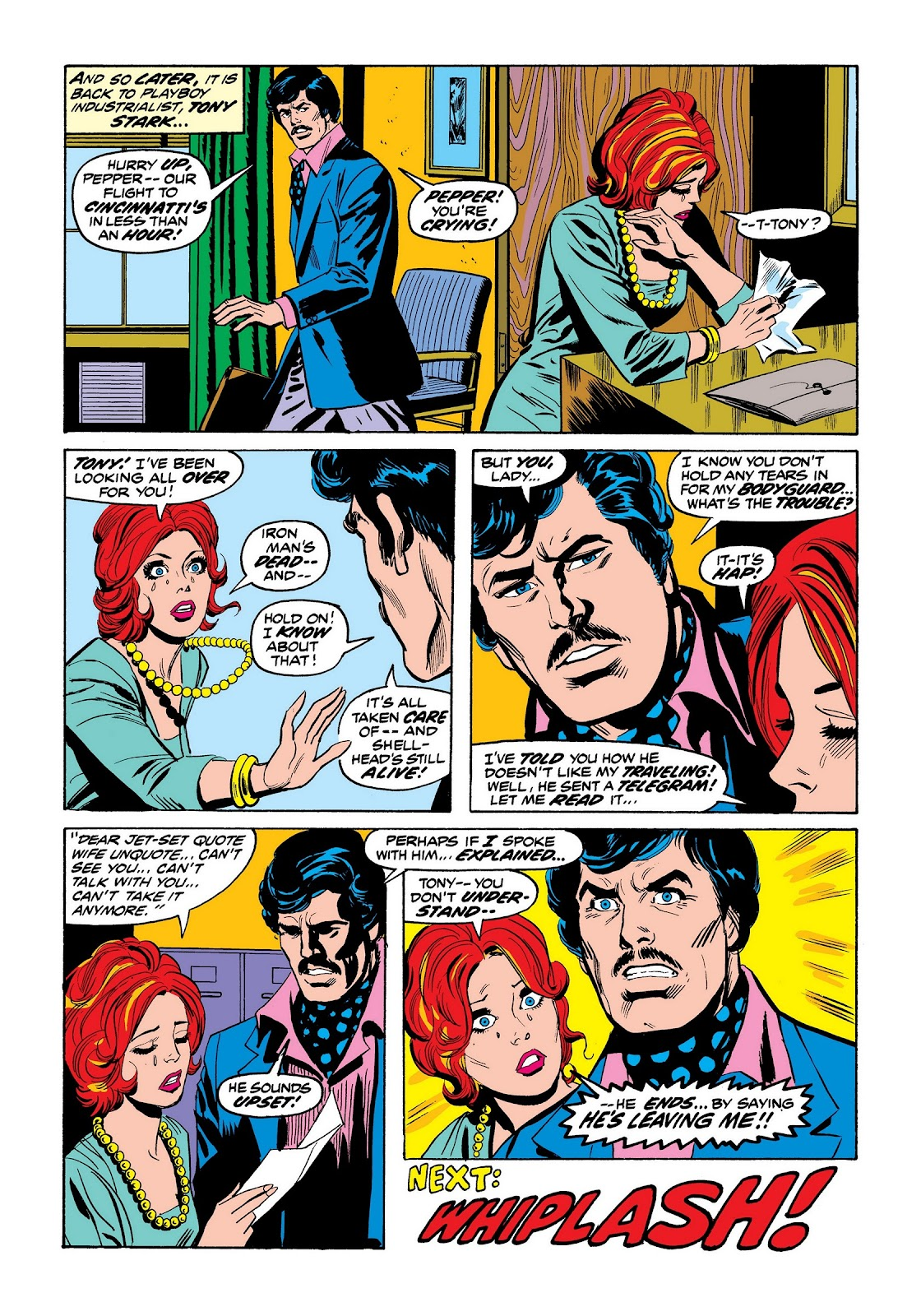 Read online Marvel Masterworks: The Invincible Iron Man comic -  Issue # TPB 9 (Part 2) - 73