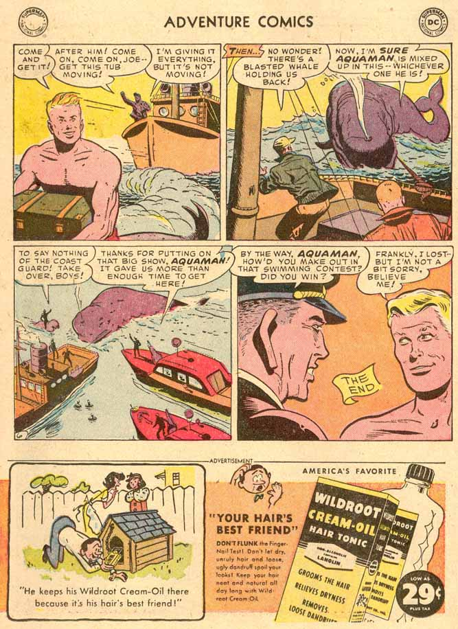 Read online Adventure Comics (1938) comic -  Issue #185 - 22