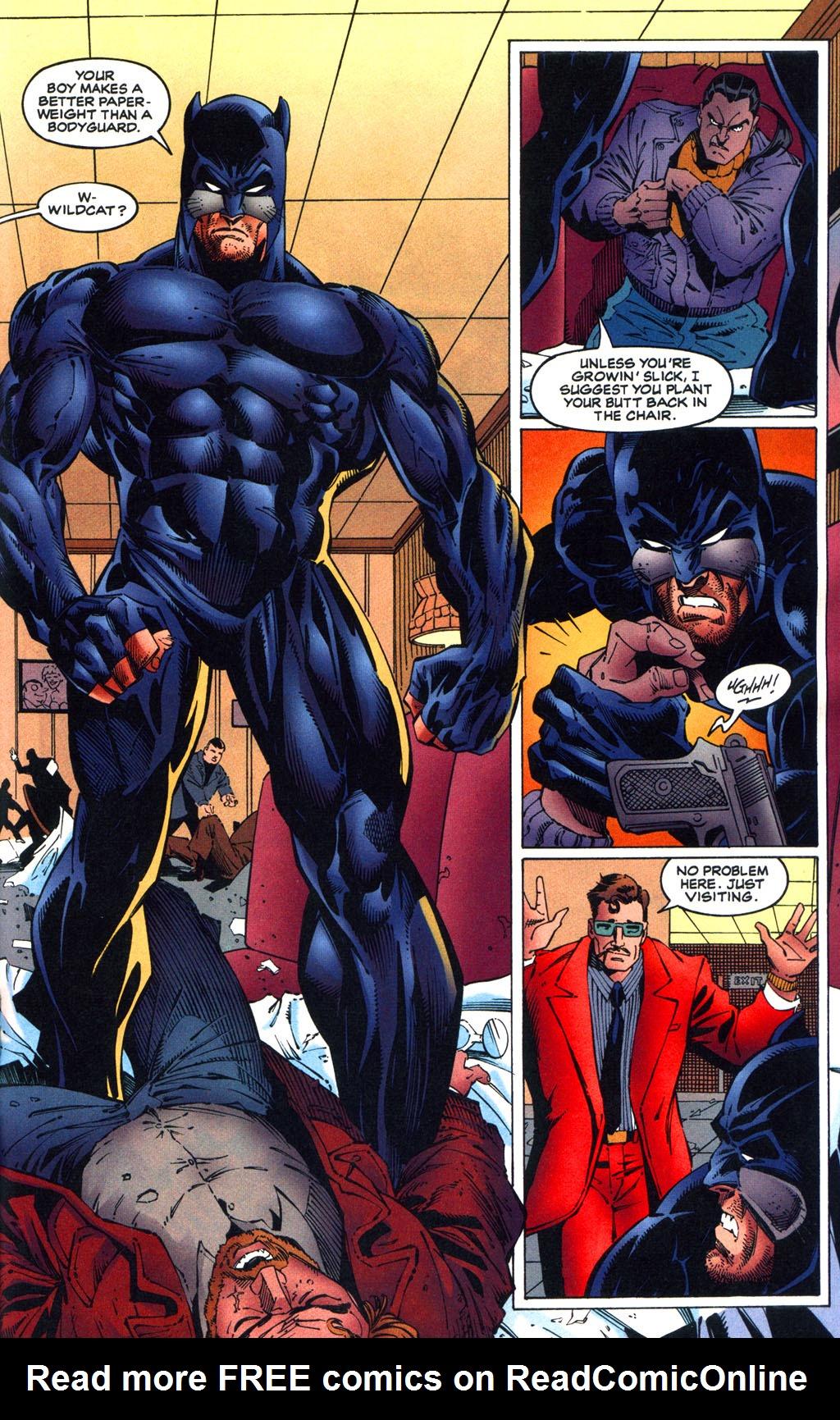 Read online Batman/Wildcat comic -  Issue #1 - 13