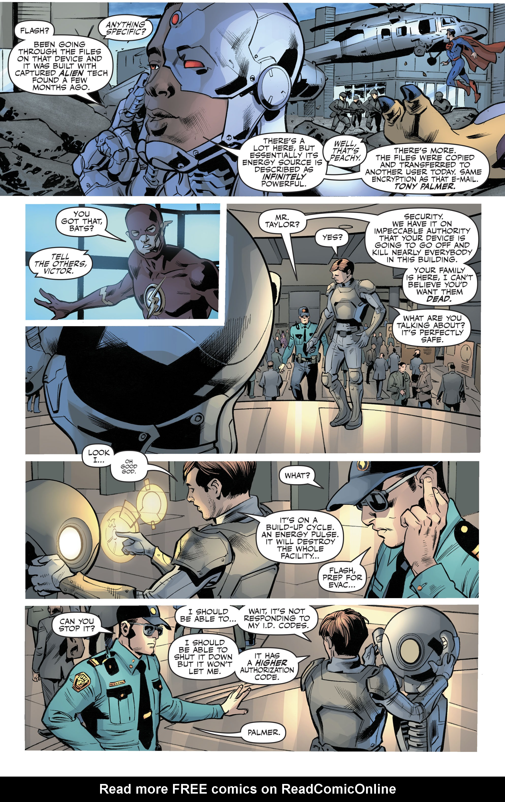 Read online Justice League (2016) comic -  Issue #21 - 15