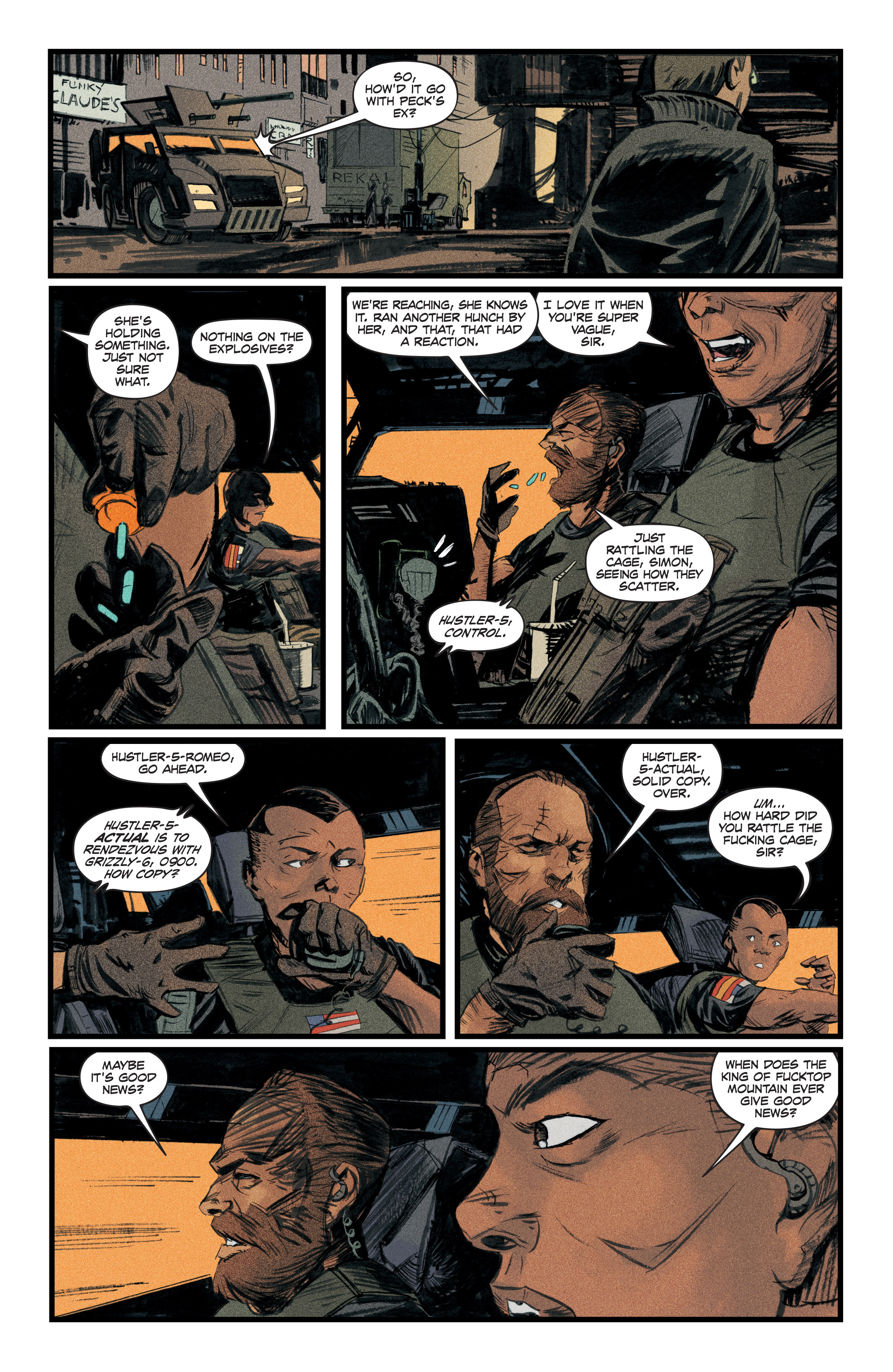 Read online Redline comic -  Issue #3 - 11