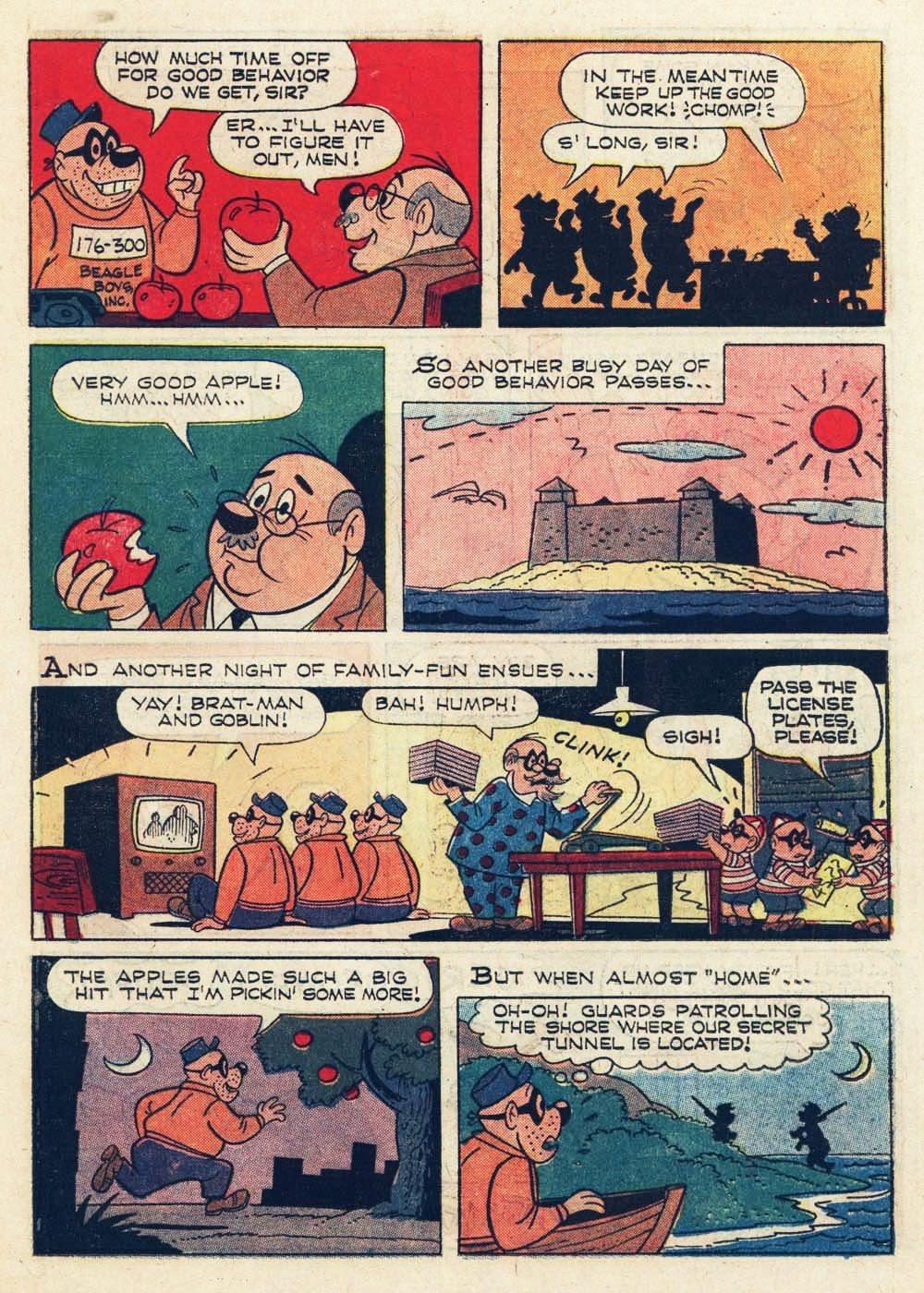 Walt Disney THE BEAGLE BOYS issue 6 - Page 11