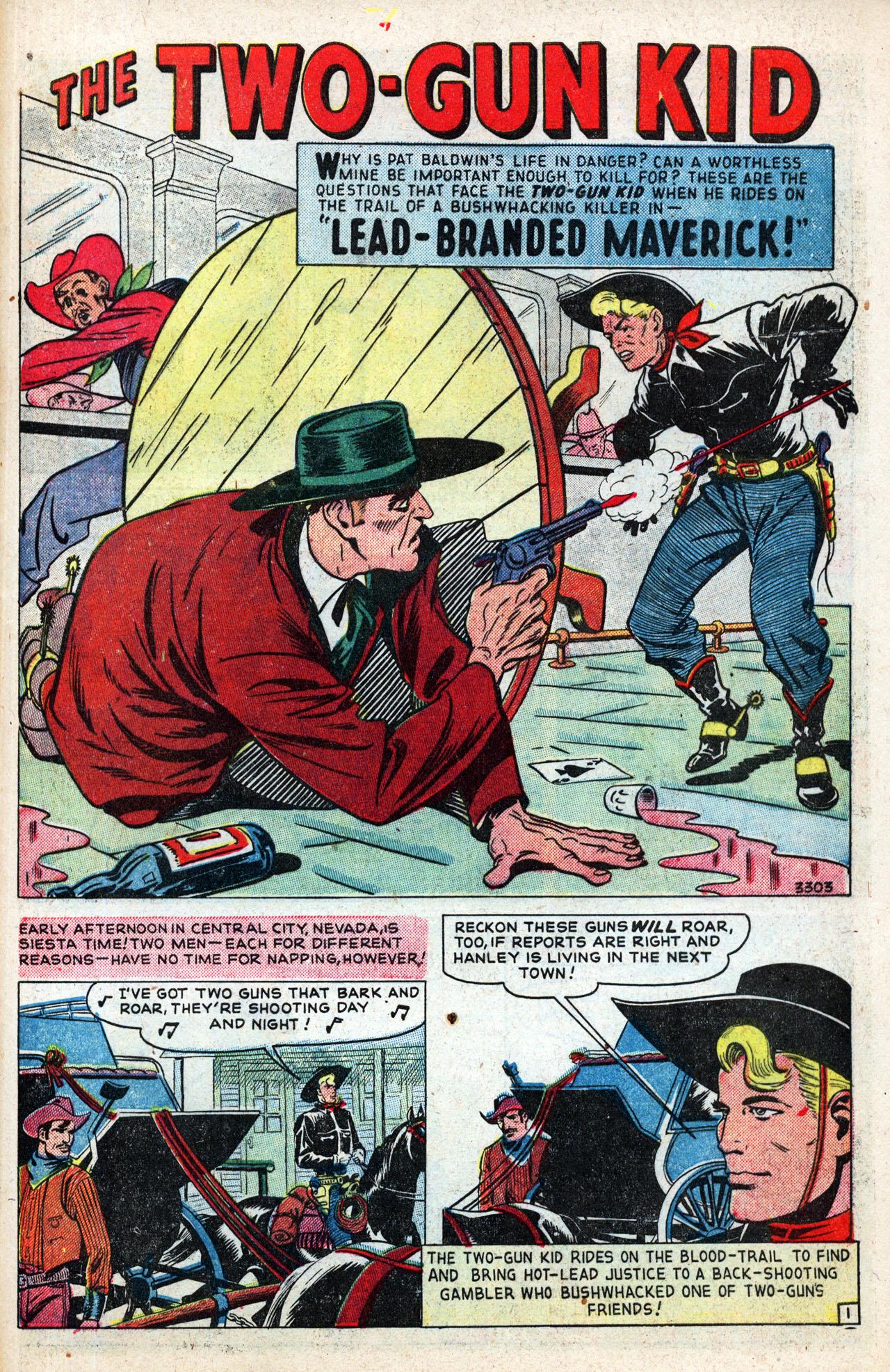 Read online Two-Gun Kid comic -  Issue #4 - 43