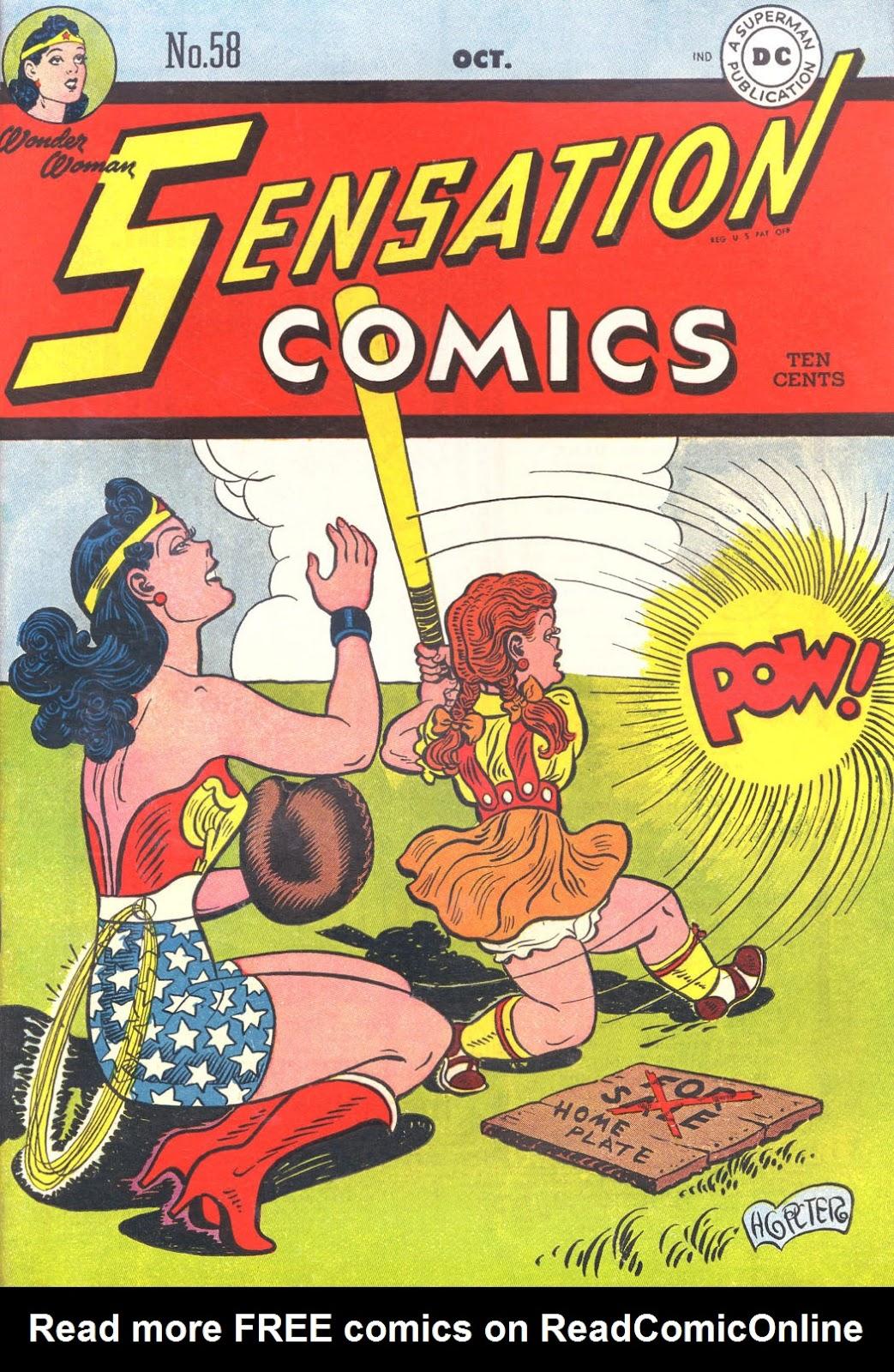 Sensation (Mystery) Comics 58 Page 1