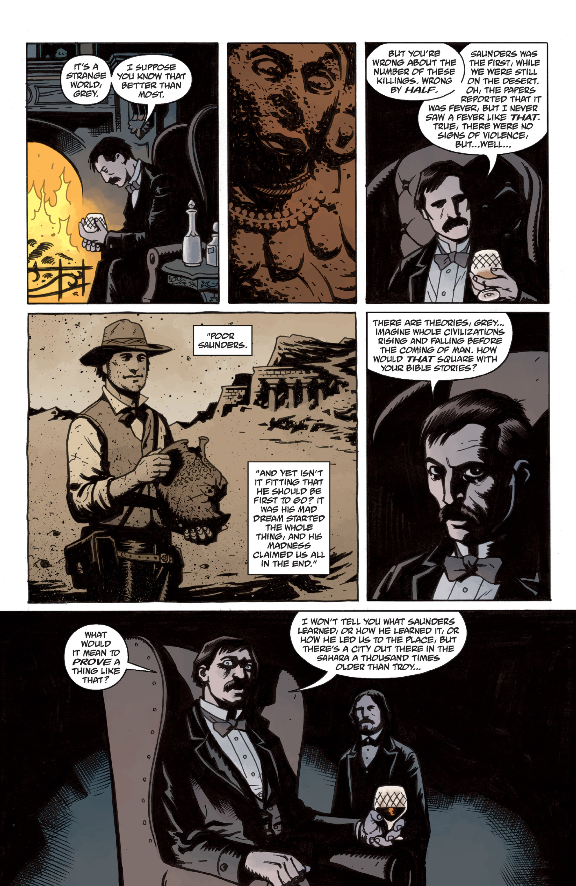 Read online Sir Edward Grey, Witchfinder: In the Service of Angels comic -  Issue # TPB - 12