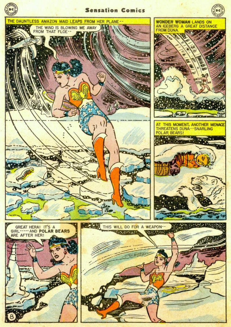 Read online Sensation (Mystery) Comics comic -  Issue #65 - 9
