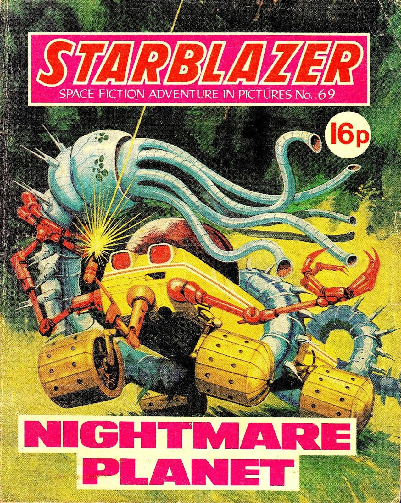 Starblazer issue 69 - Page 1