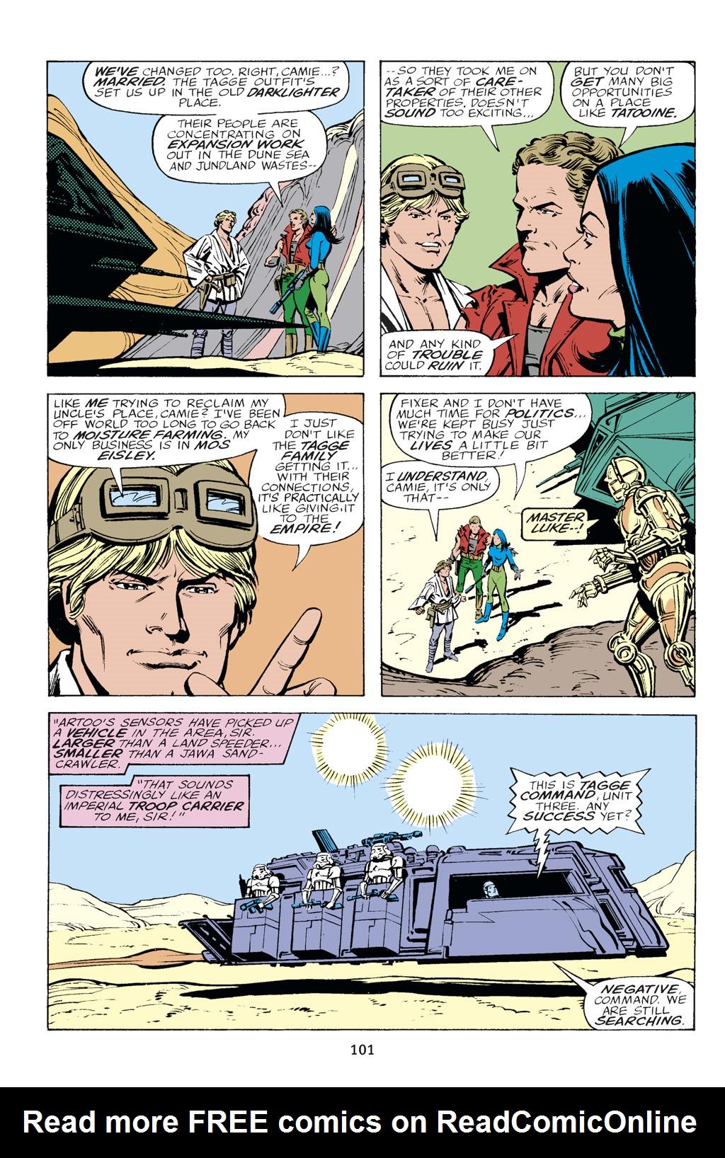 Read online Star Wars Omnibus comic -  Issue # Vol. 14 - 101