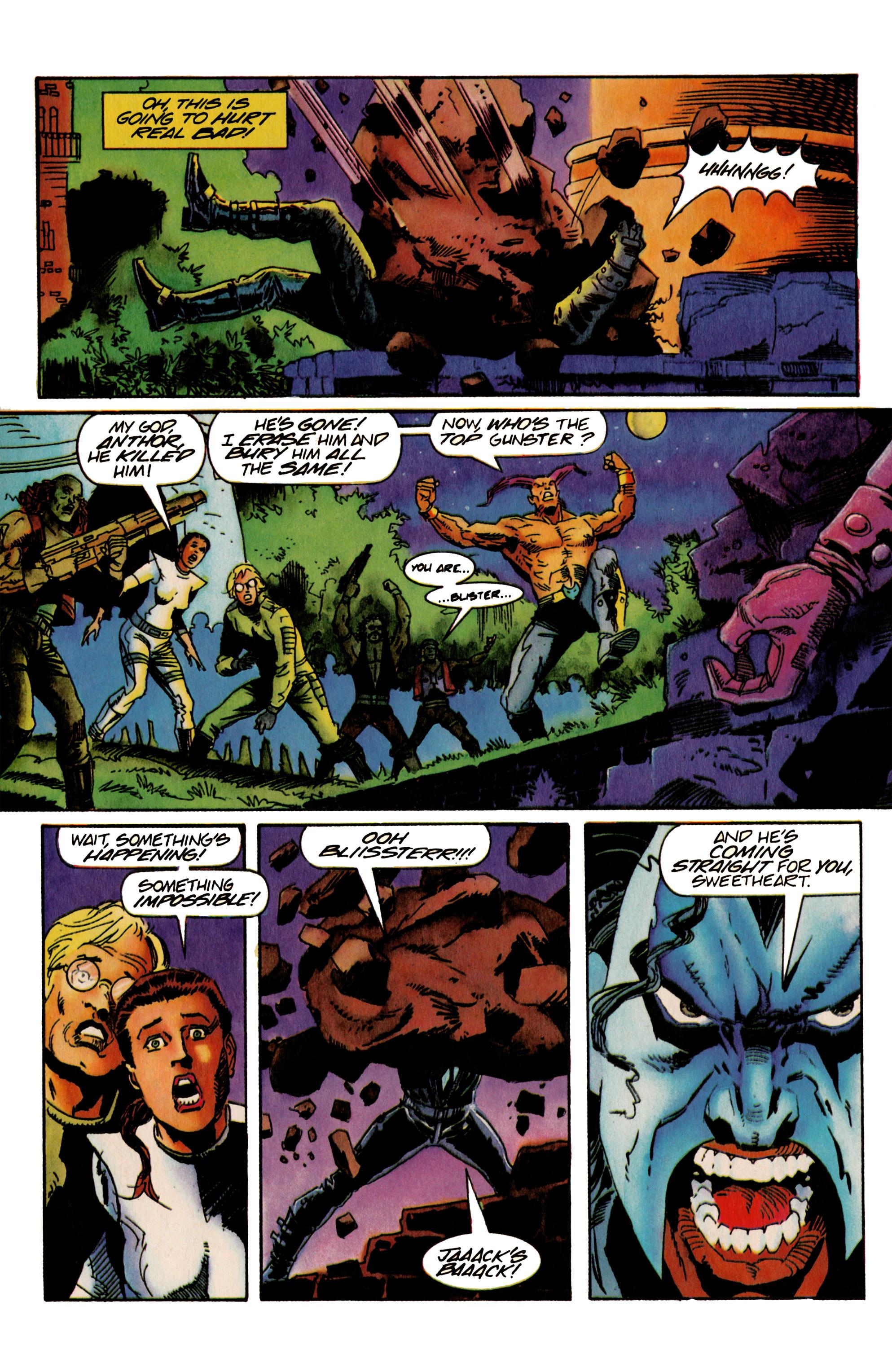 Read online Shadowman (1992) comic -  Issue #22 - 10