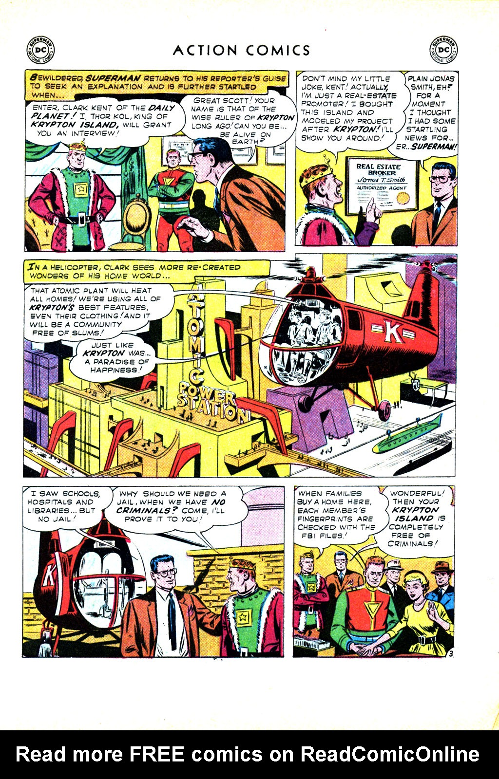 Read online Action Comics (1938) comic -  Issue #246 - 5