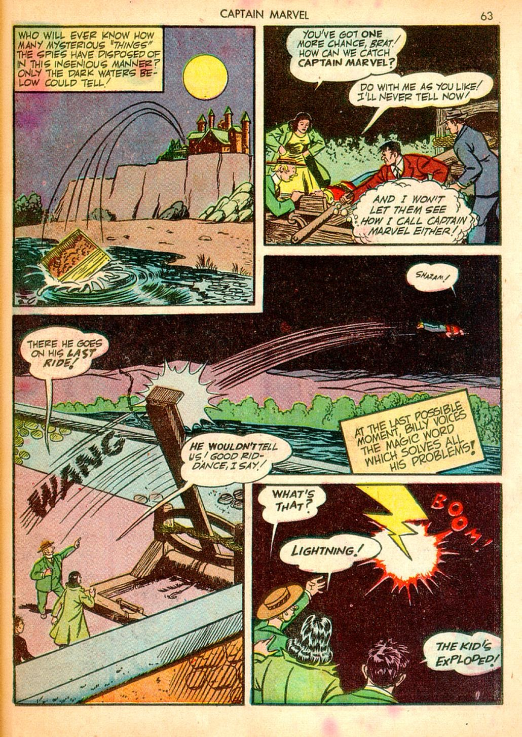Captain Marvel Adventures issue 10 - Page 63