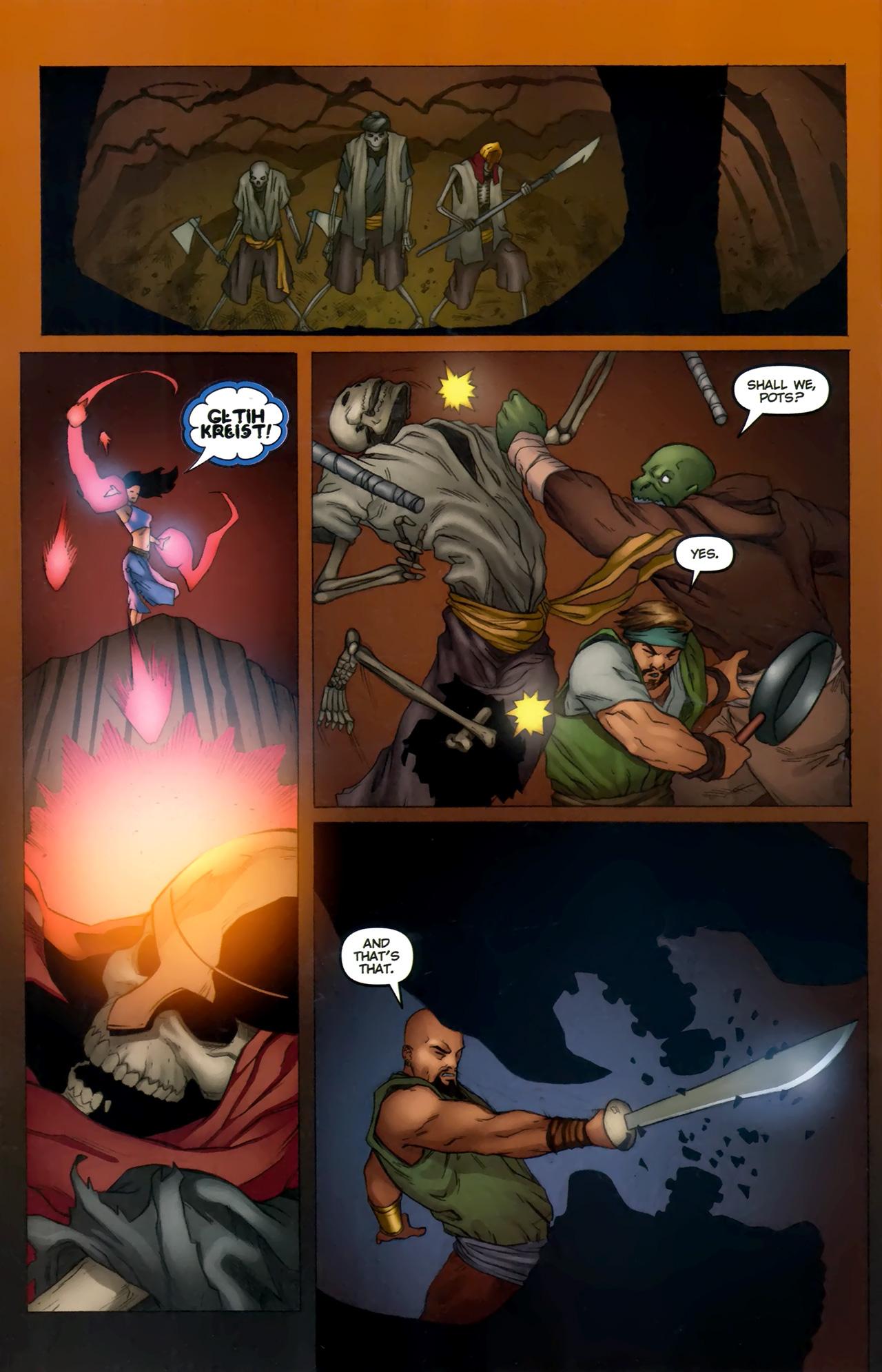 Read online 1001 Arabian Nights: The Adventures of Sinbad comic -  Issue #11 - 22