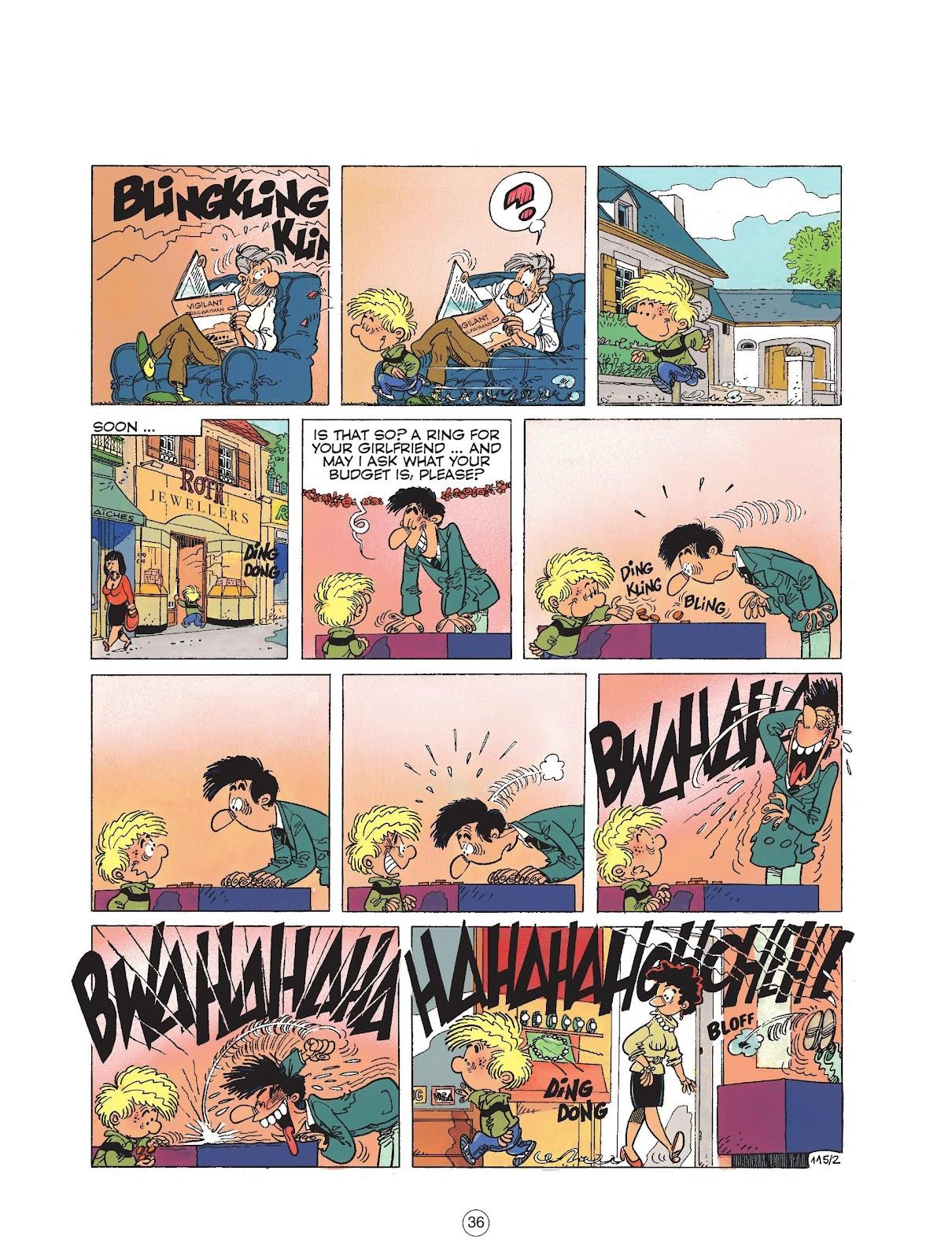 Read online Cedric comic -  Issue #6 - 38