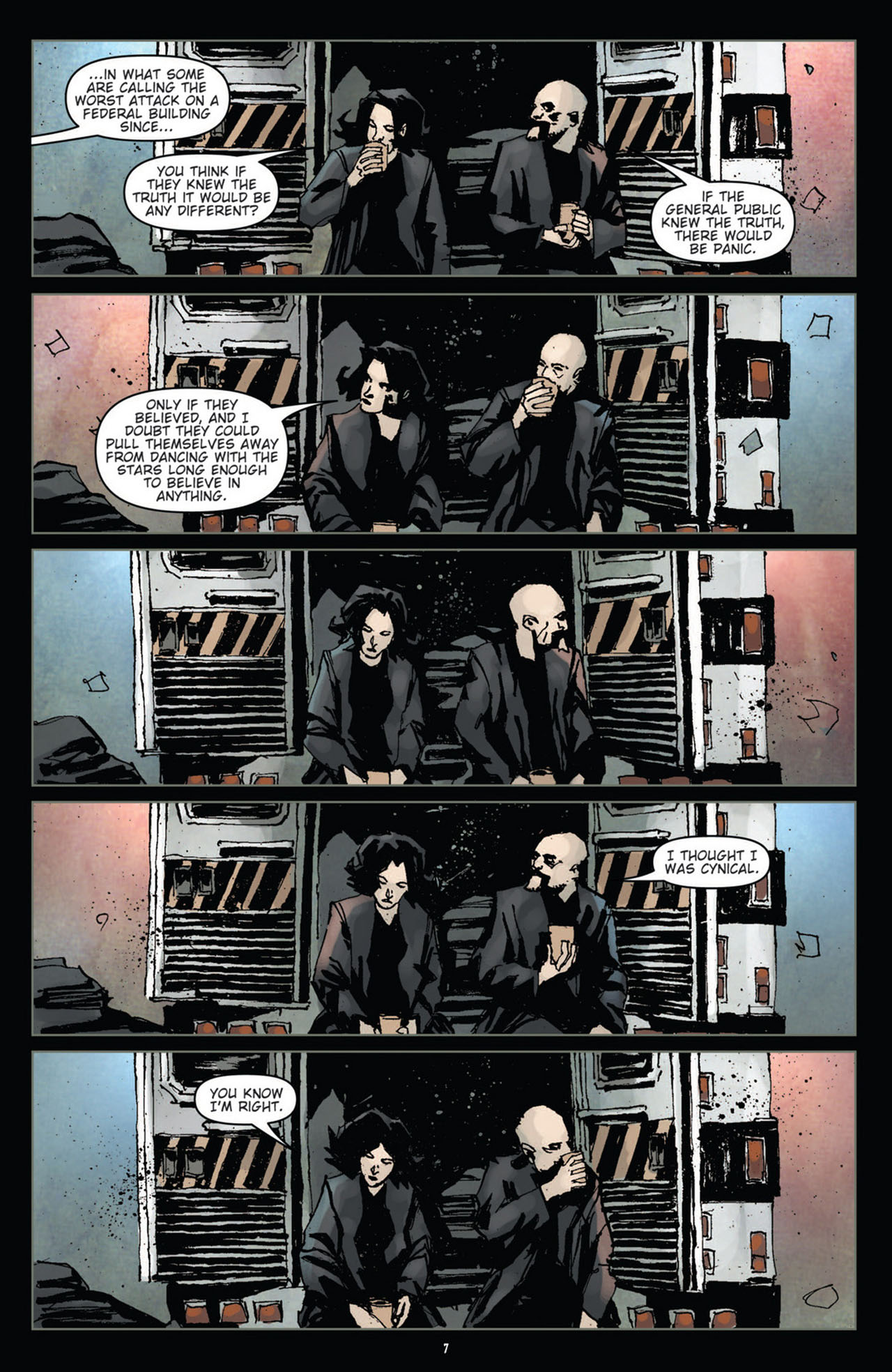 Read online 30 Days of Night (2011) comic -  Issue #10 - 8