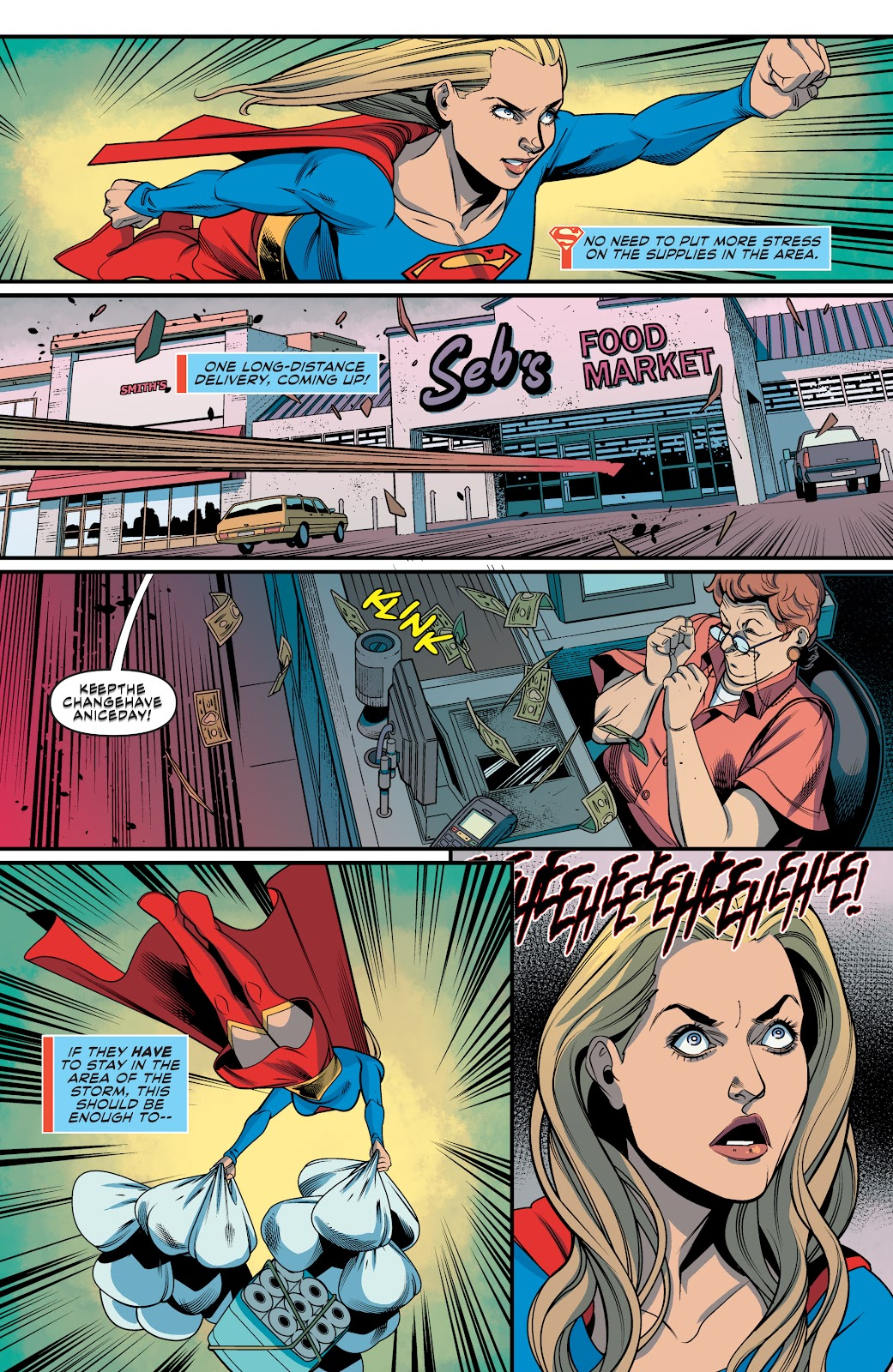 Read online Supergirl (2016) comic -  Issue #41 - 16