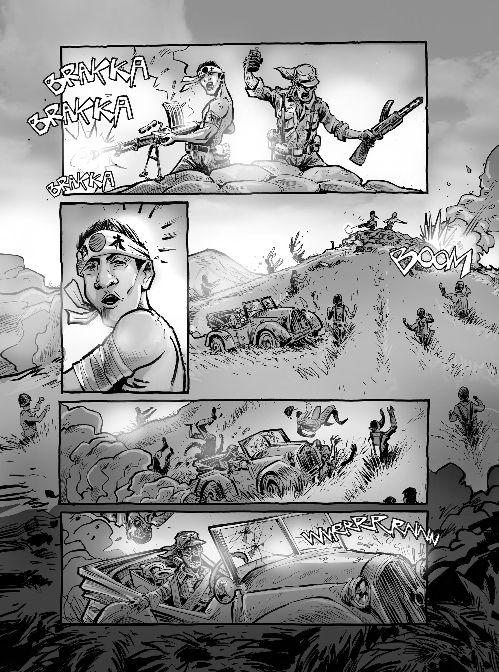 Read online FUBAR comic -  Issue #2 - 21