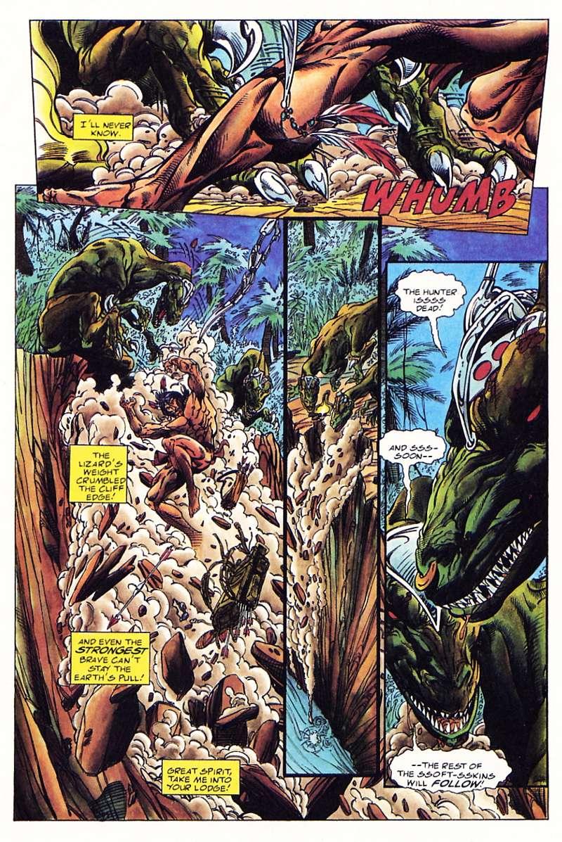 Read online Turok, Dinosaur Hunter (1993) comic -  Issue #1 - 11