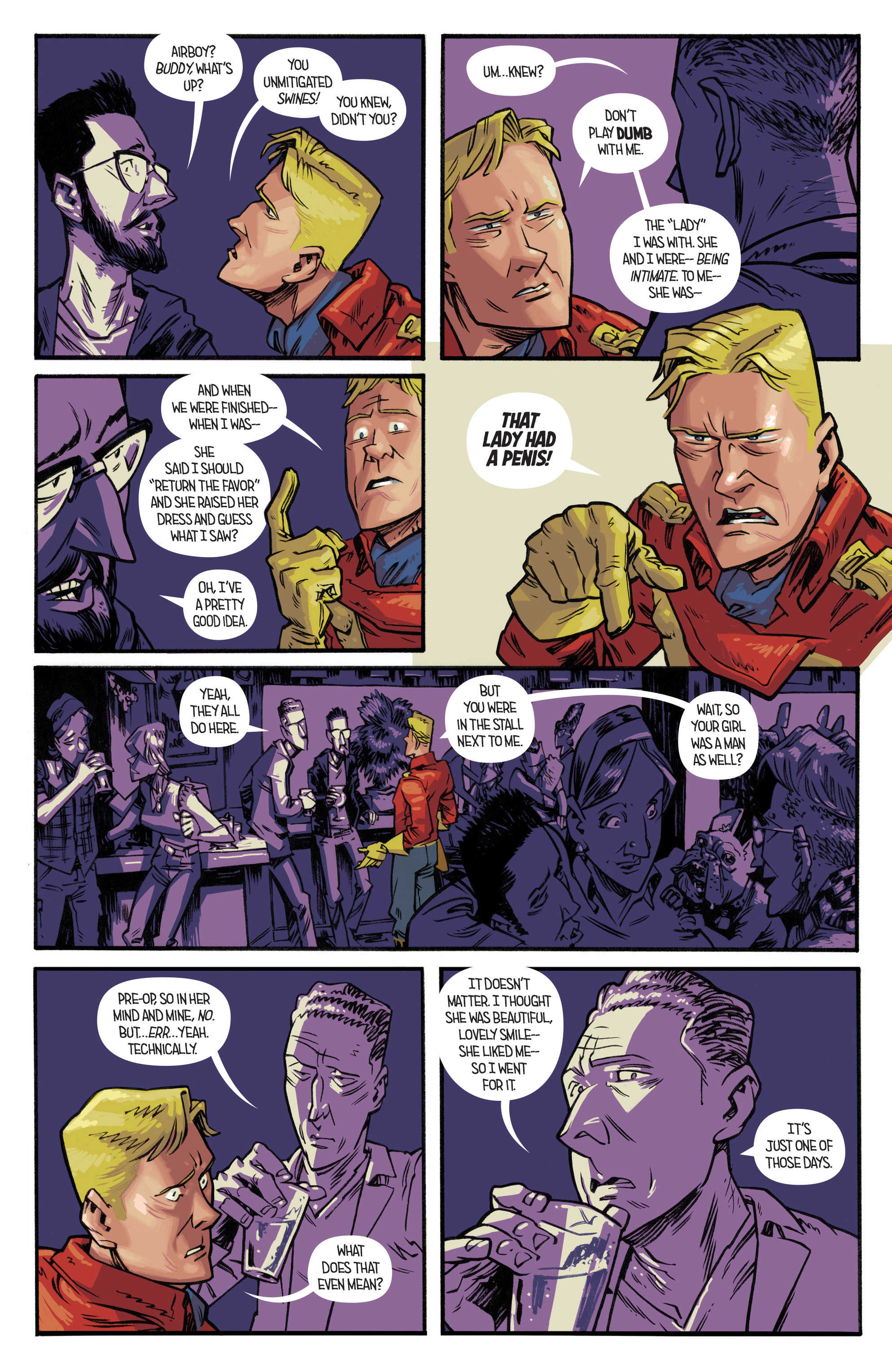 Read online Airboy comic -  Issue #2 - 21