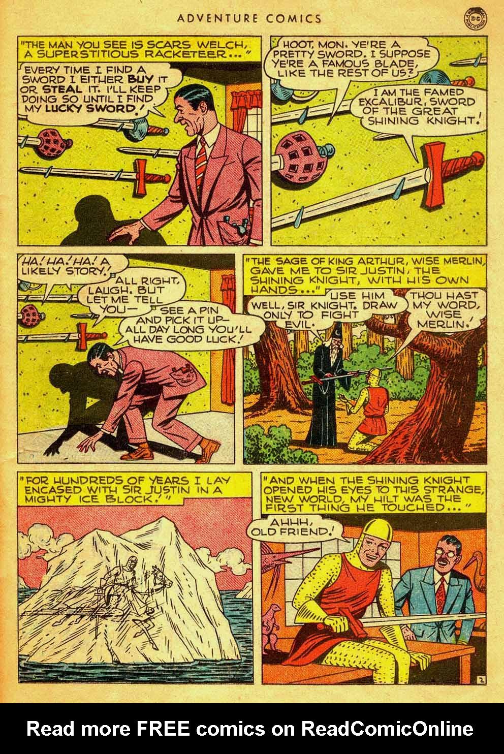 Read online Adventure Comics (1938) comic -  Issue #121 - 32