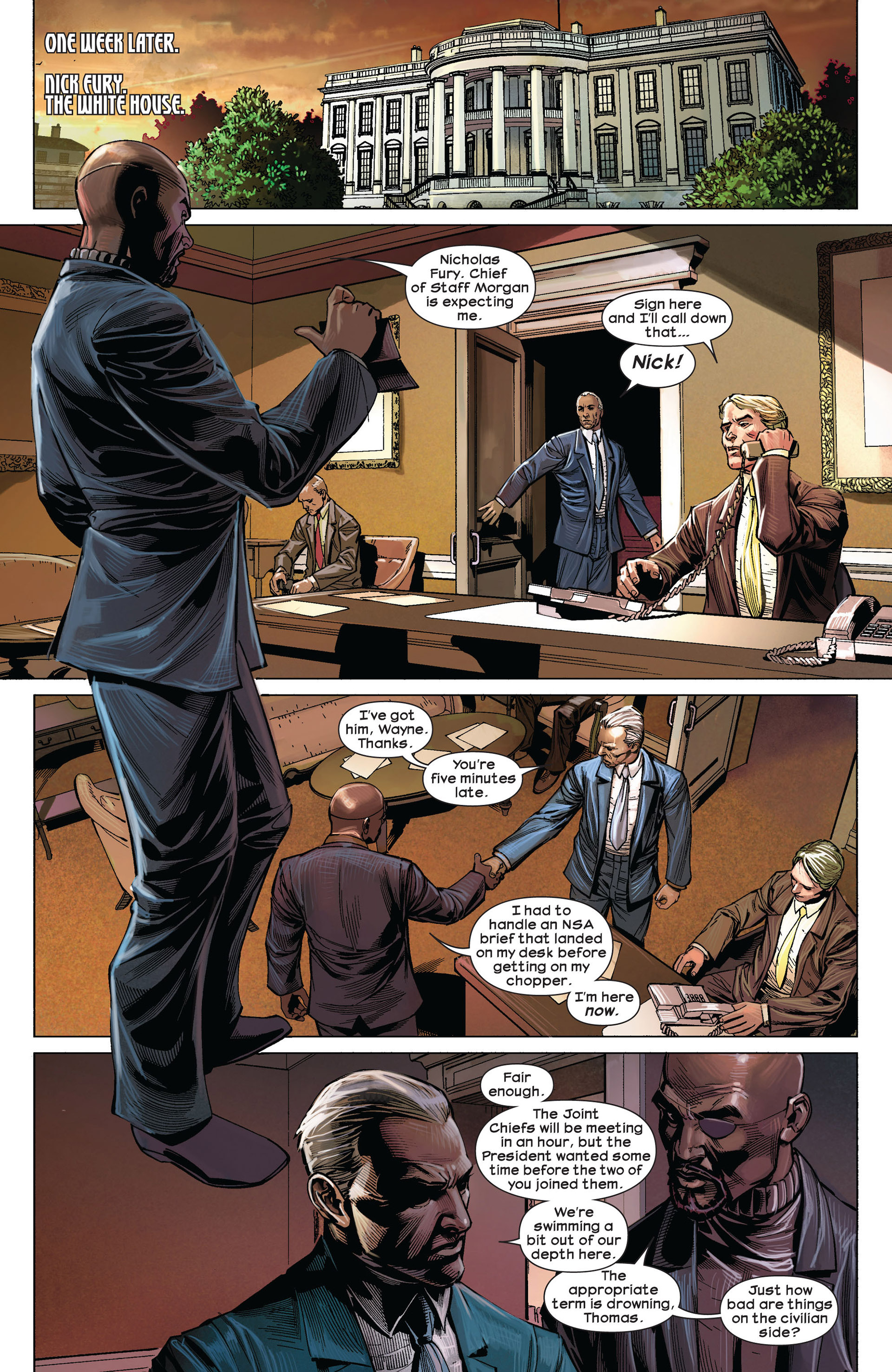 Read online Ultimate Comics Ultimates comic -  Issue #5 - 3