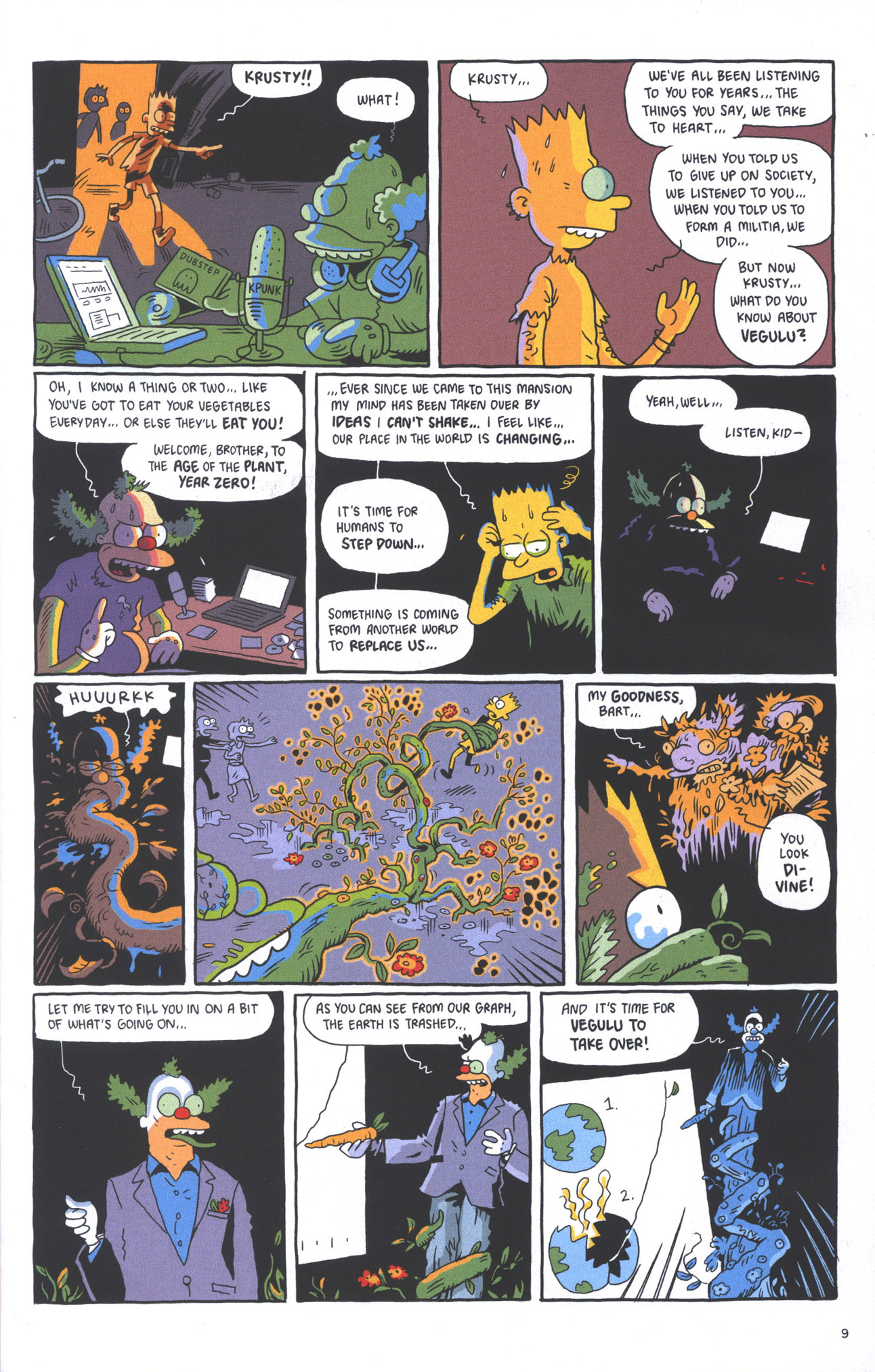 Read online Treehouse of Horror comic -  Issue #15 - 12