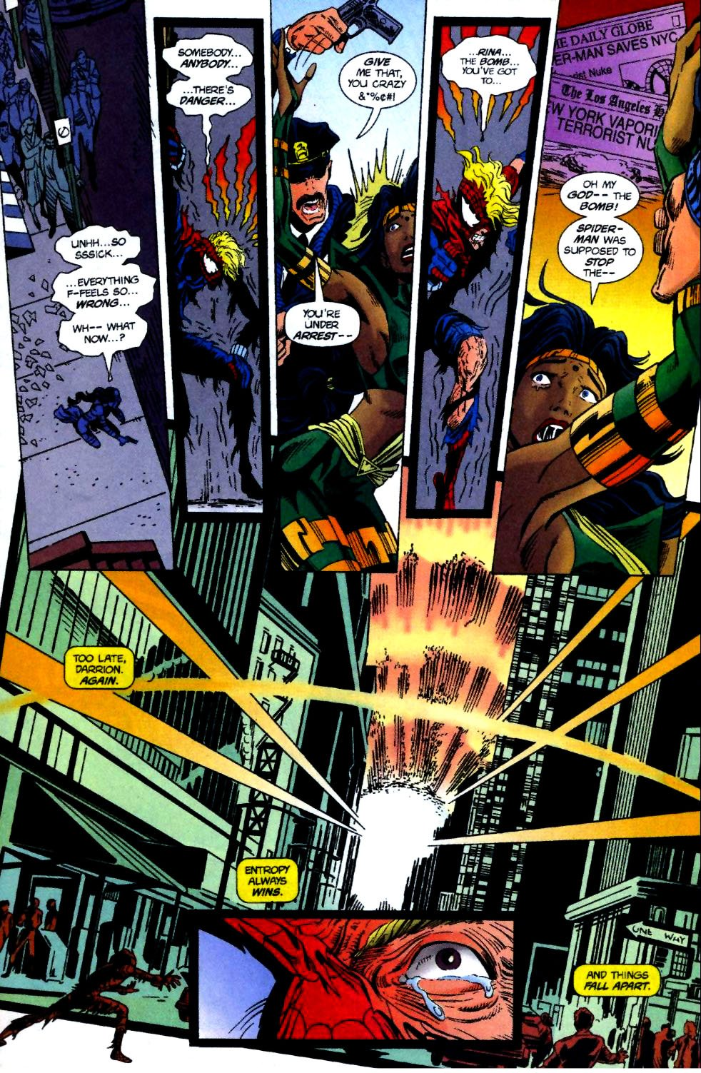 The New Warriors Issue #70 #74 - English 22