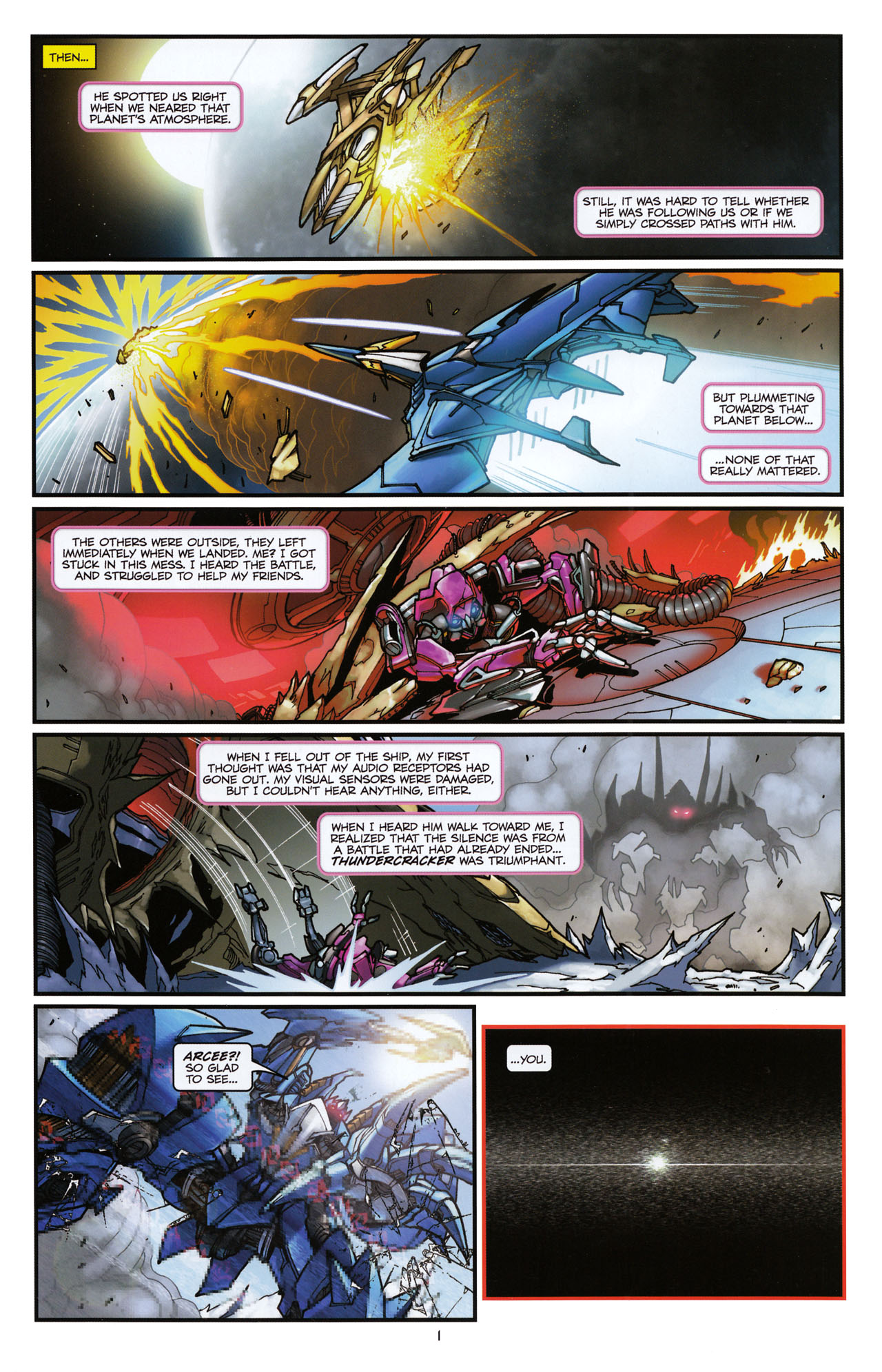 Read online Transformers: Tales of The Fallen comic -  Issue #6 - 3