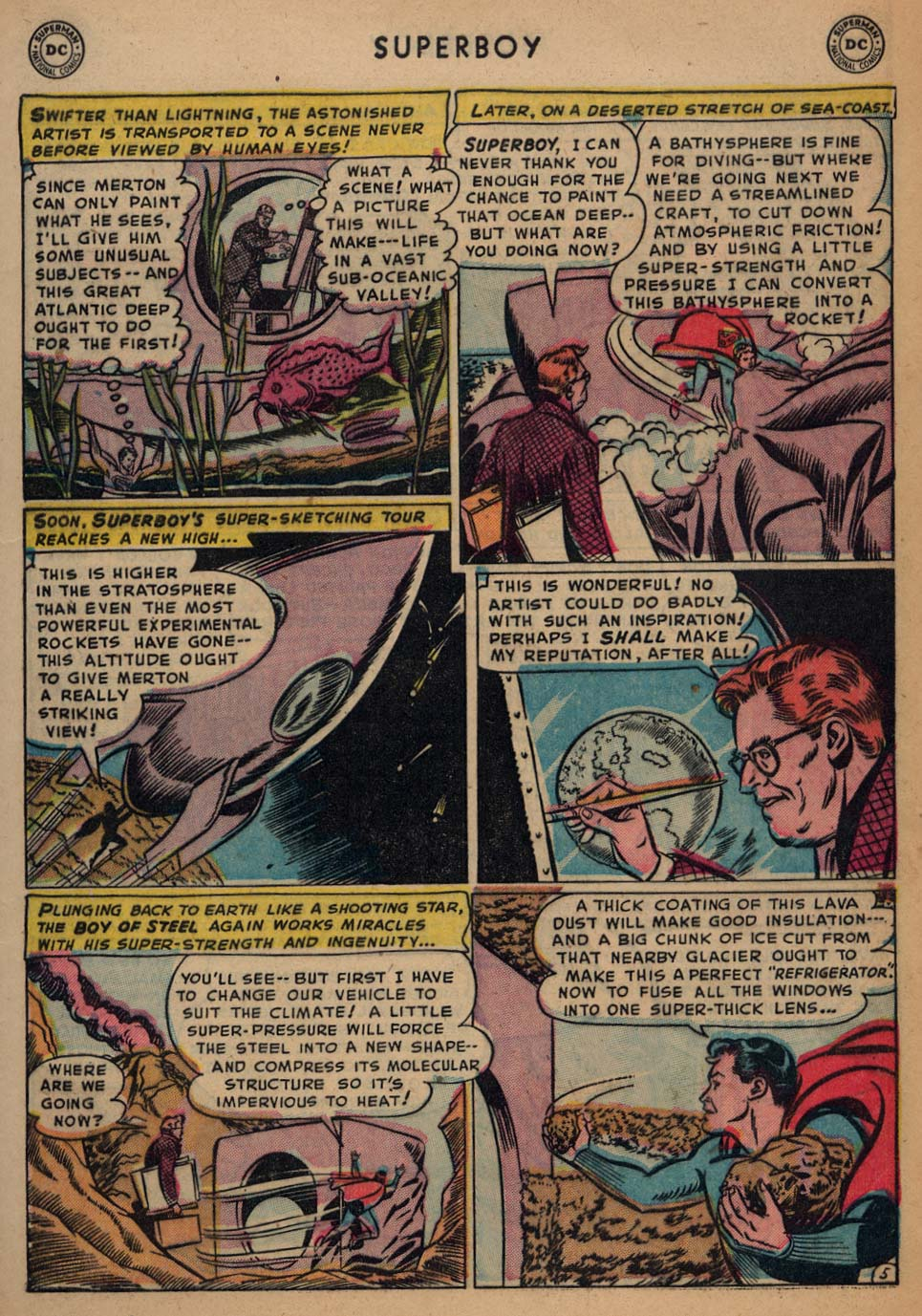 Superboy (1949) issue 25 - Page 6