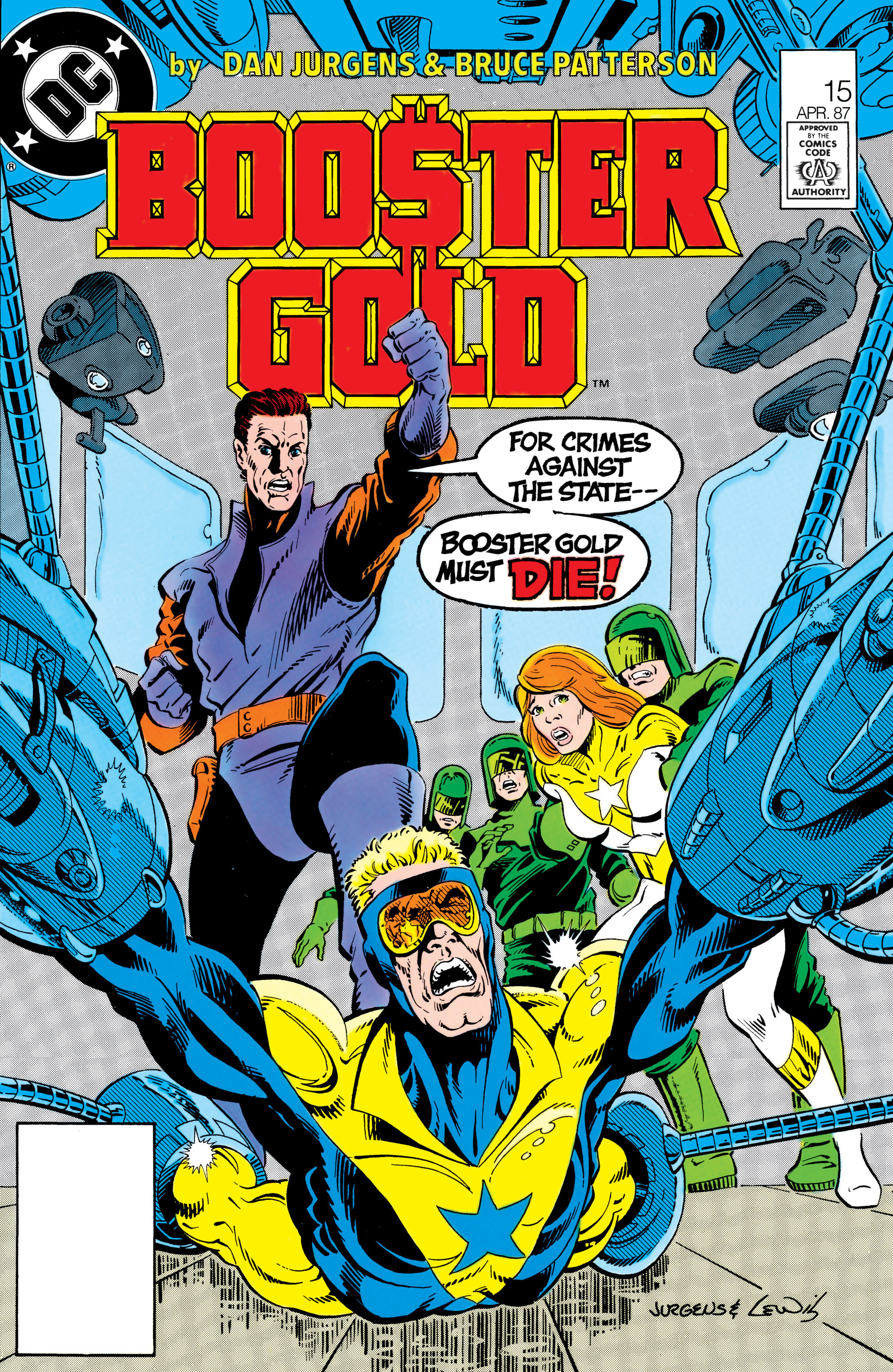 Booster Gold 1986 Issue 15