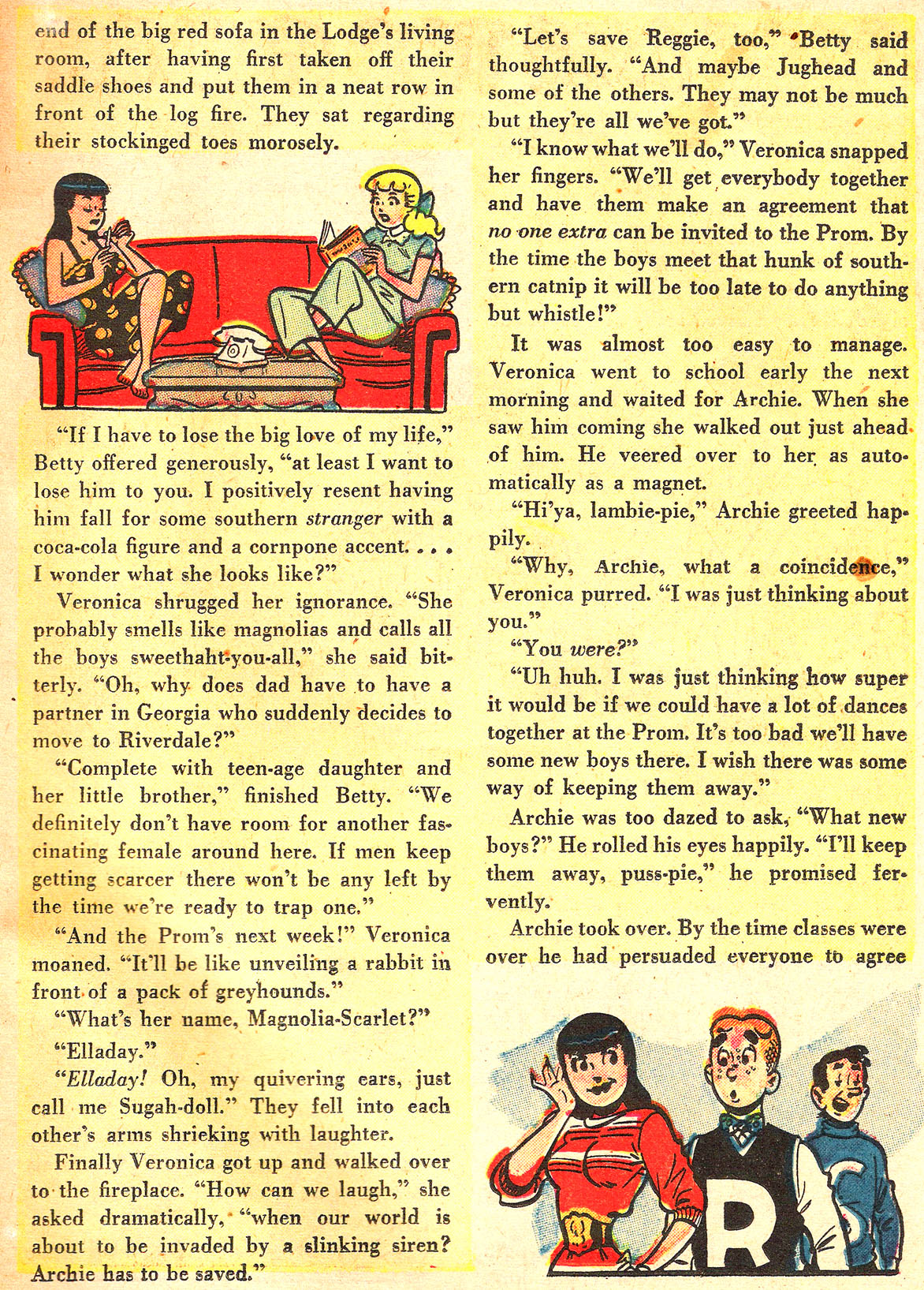 Read online Archie's Girls Betty and Veronica comic -  Issue #Archie's Girls Betty and Veronica Annual 1 - 37