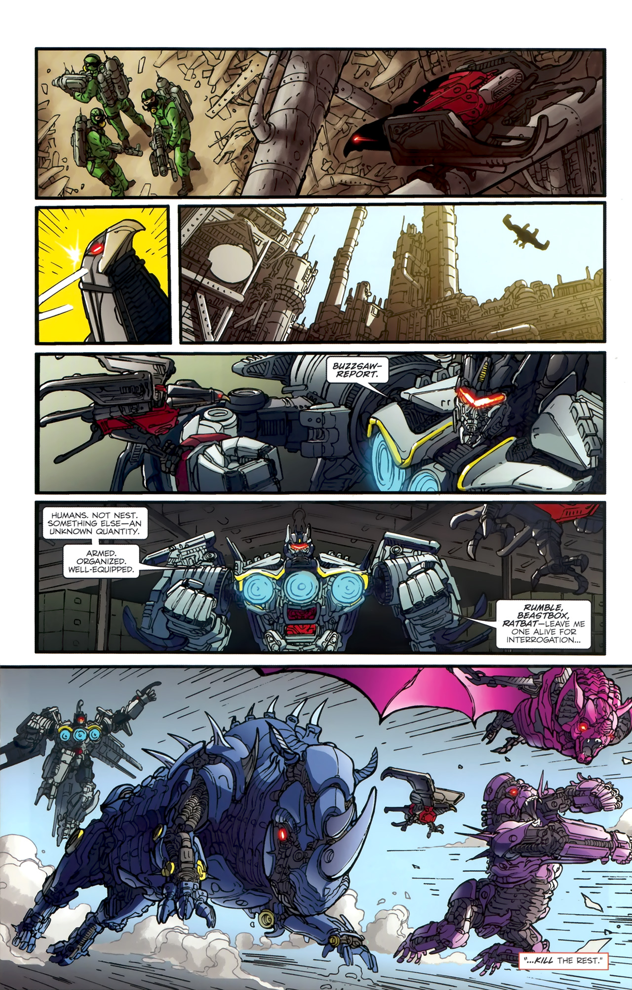 Read online Transformers: Nefarious comic -  Issue #1 - 17