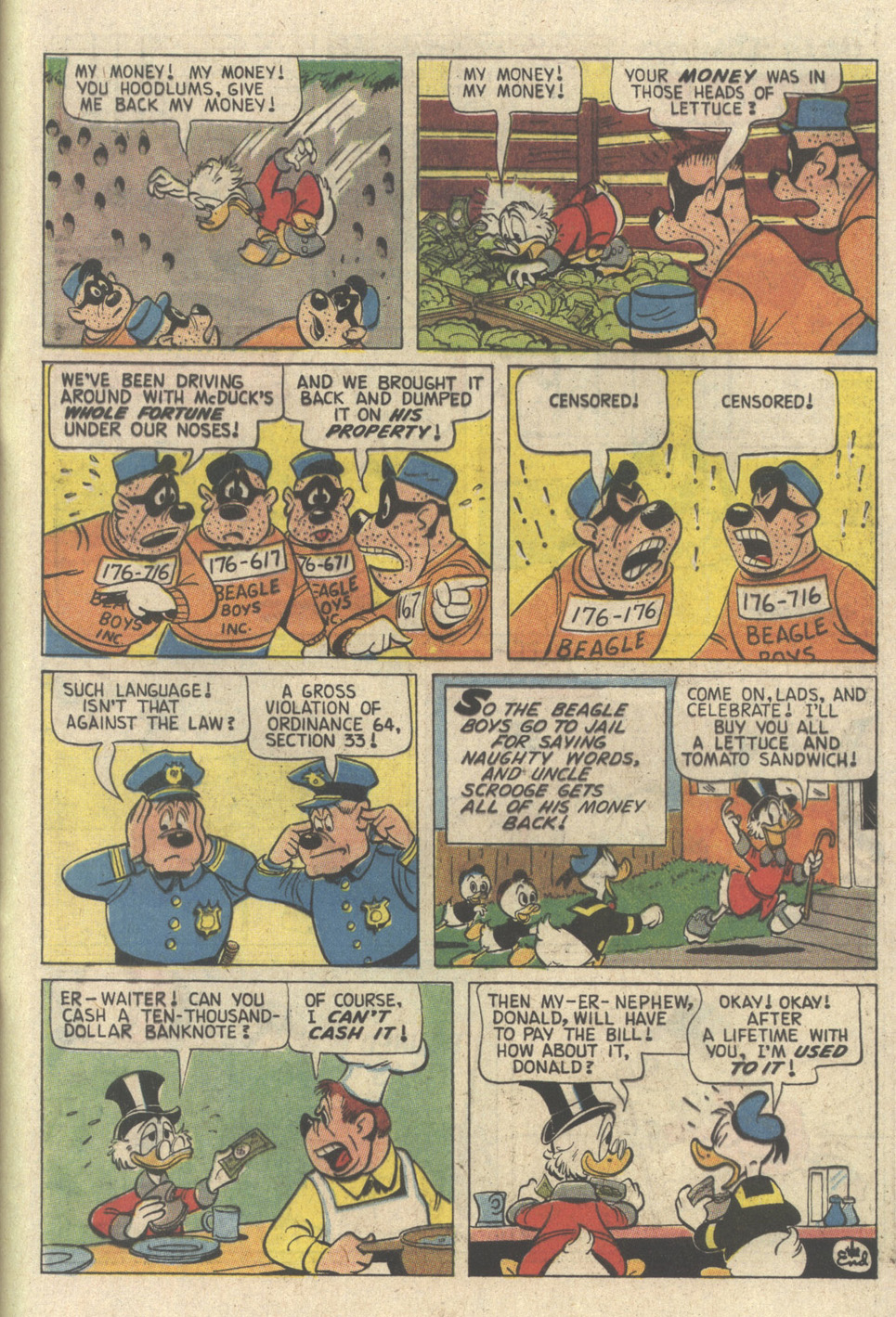 Read online Uncle Scrooge (1953) comic -  Issue #241 - 65