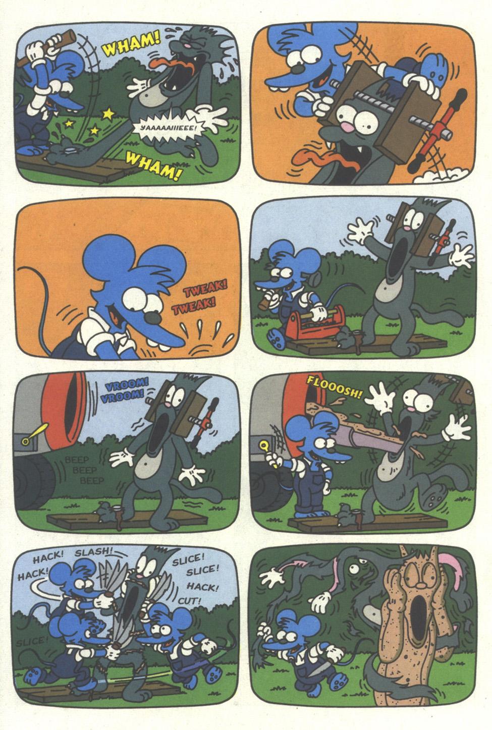 Read online Simpsons Comics comic -  Issue #17 - 19