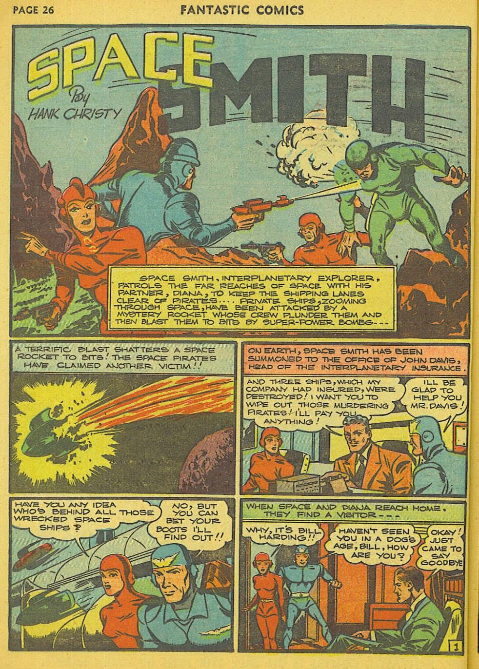 Read online Fantastic Comics comic -  Issue #15 - 20