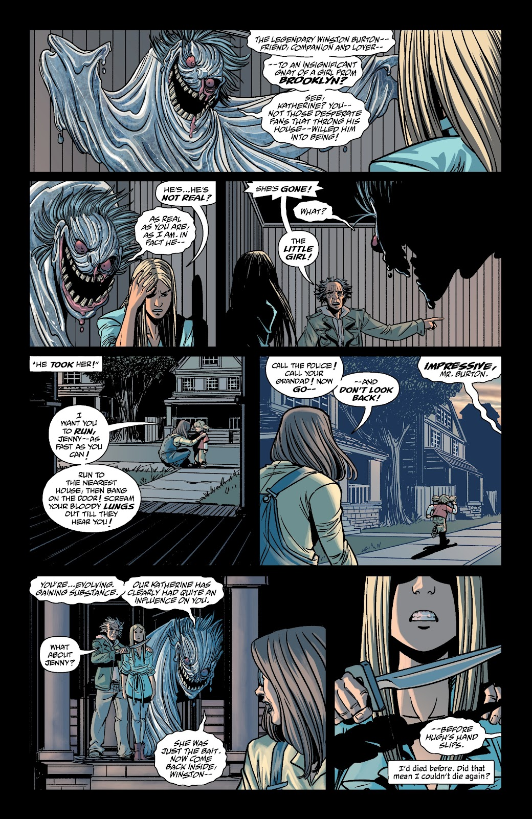 Read online The Girl In The Bay comic -  Issue #4 - 14