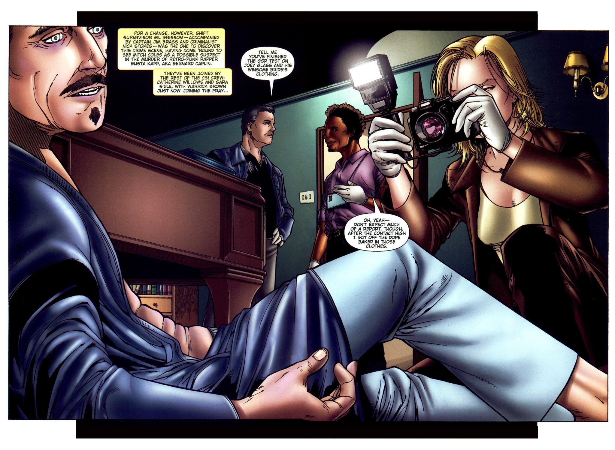 Read online CSI: Crime Scene Investigation: Bad Rap comic -  Issue #4 - 4