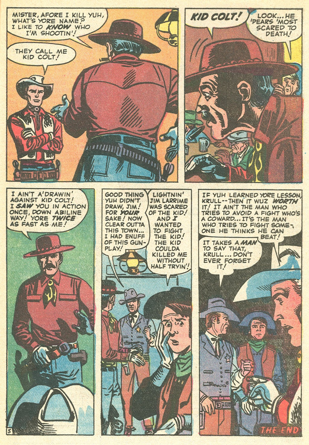 Kid Colt Outlaw issue 151 - Page 33